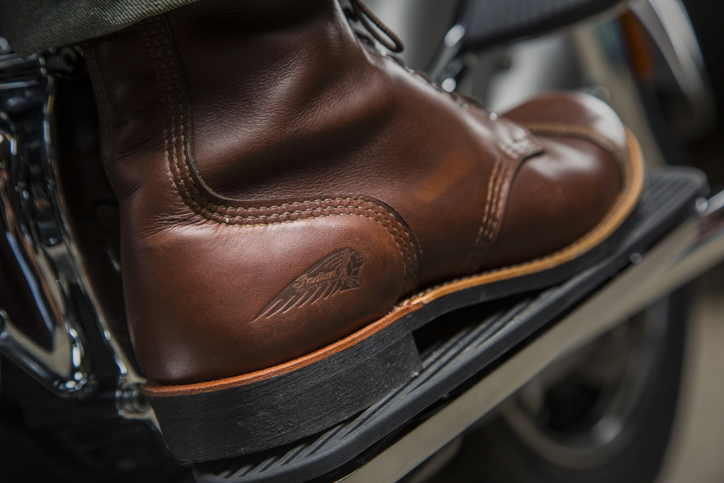 Indian Motorcycles Redwing Boots