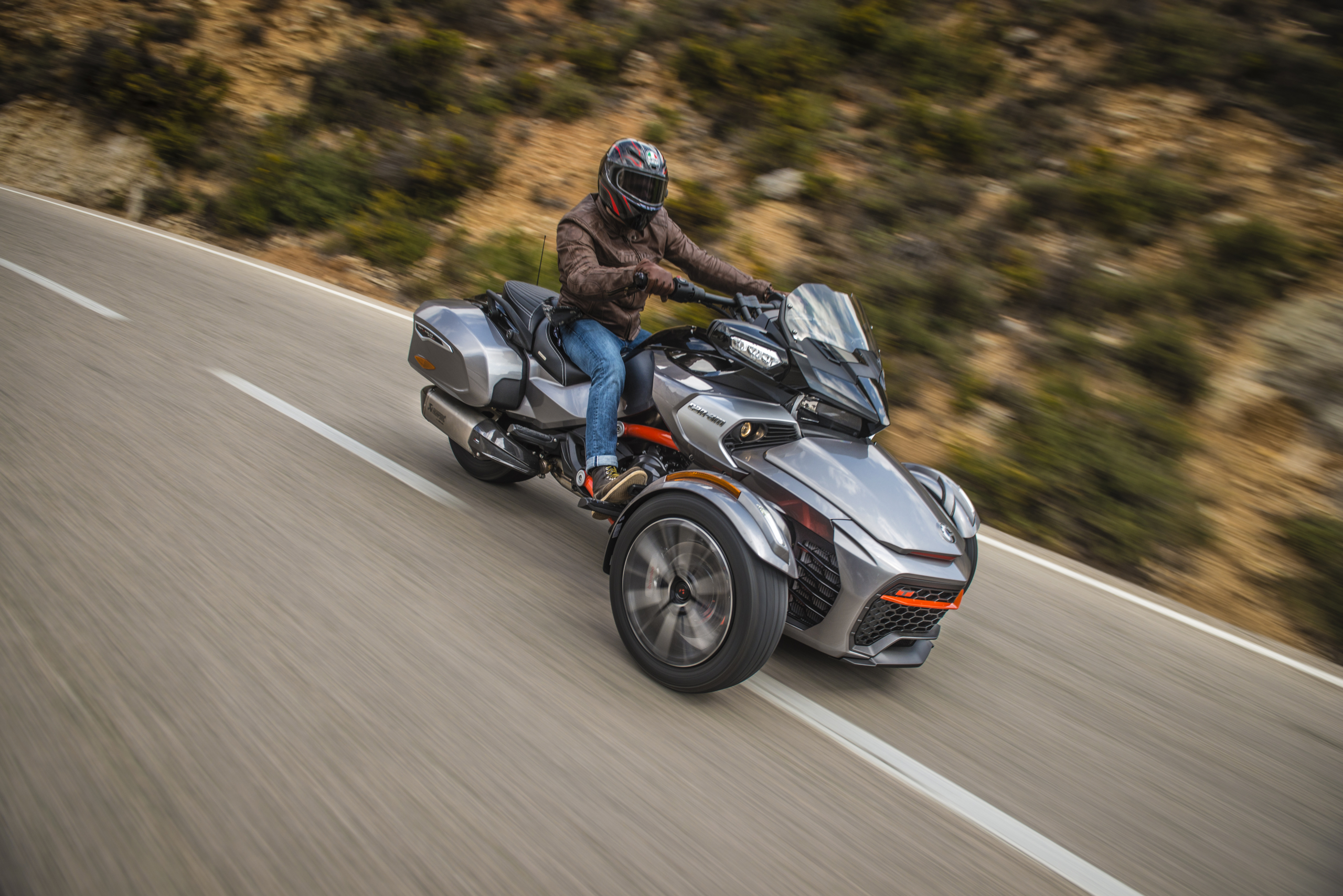 Can-Am Spyder F3T Drive