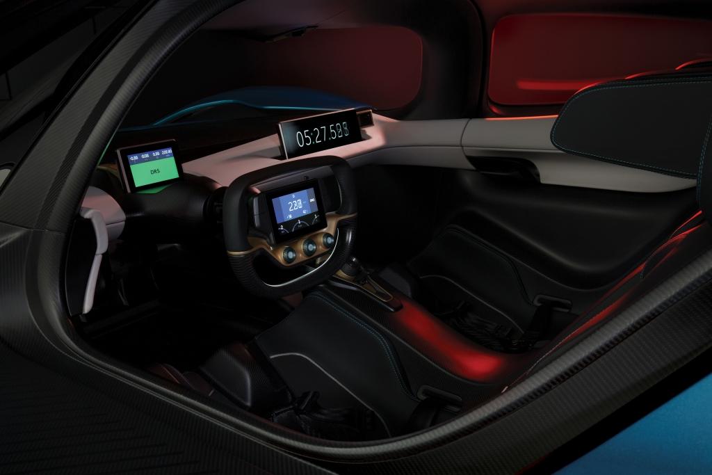 NextEV NIO EP9 Interior
