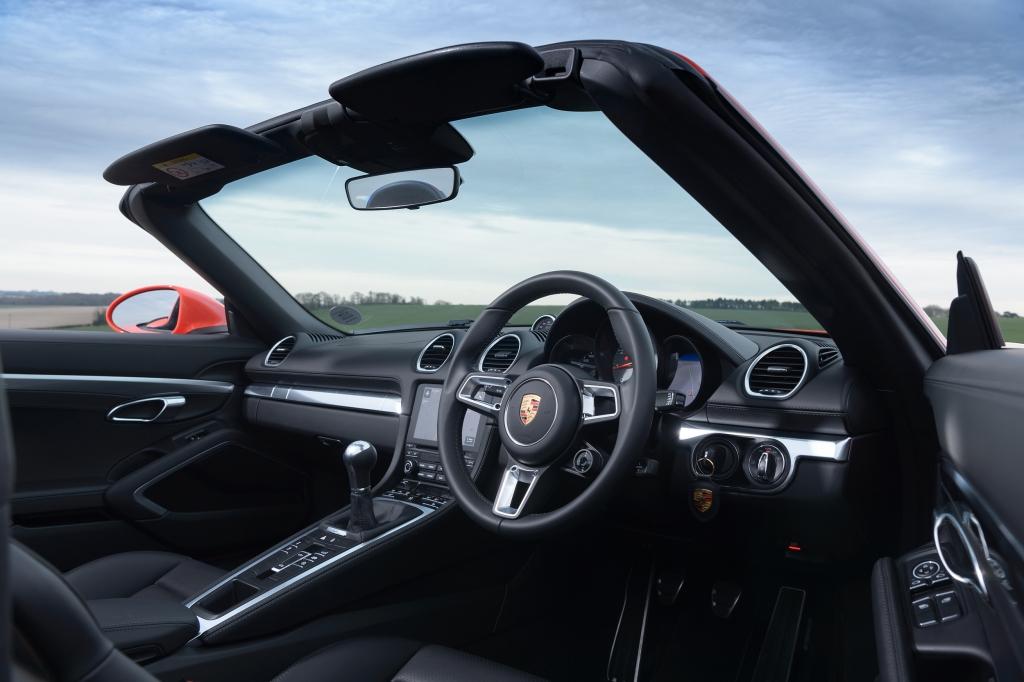 Porsche 718 Boxster S interior