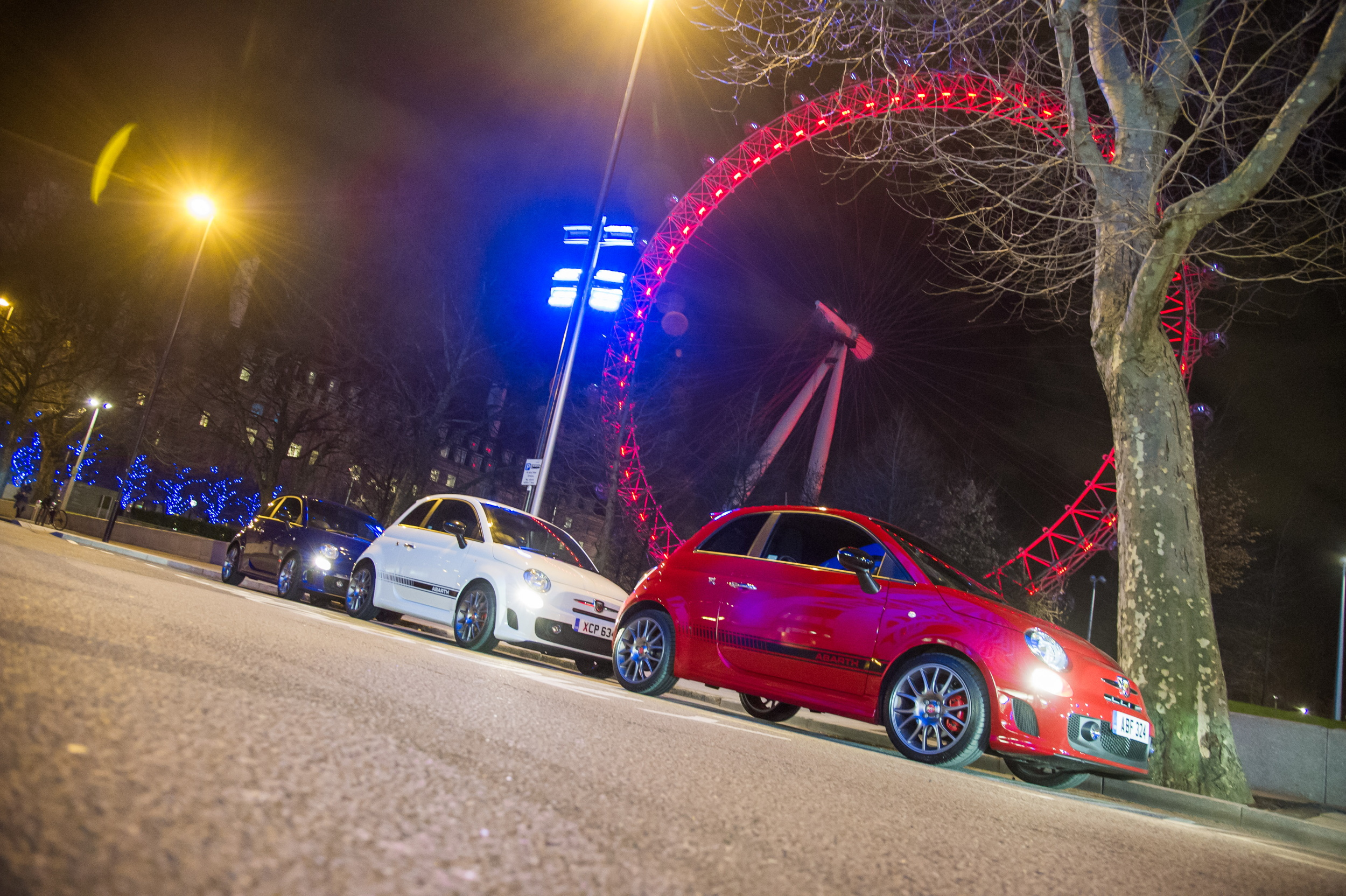 Abarth 595 London Eye