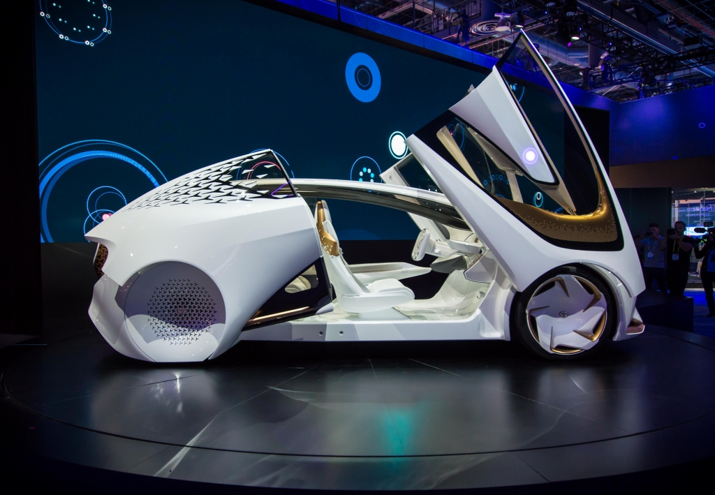 Toyota Concept i from CES 2017 photo by Leon Poultney