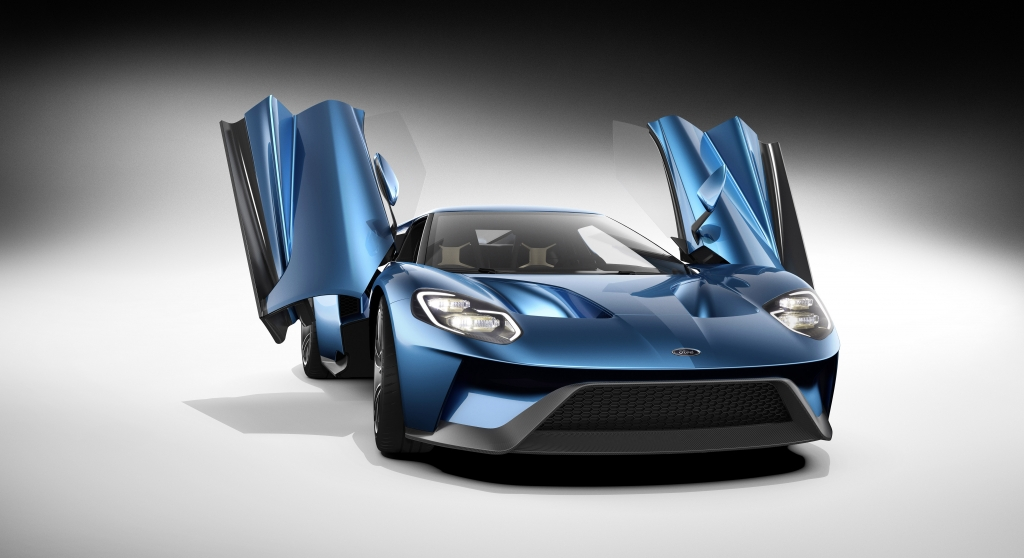 Ford GT performance figures