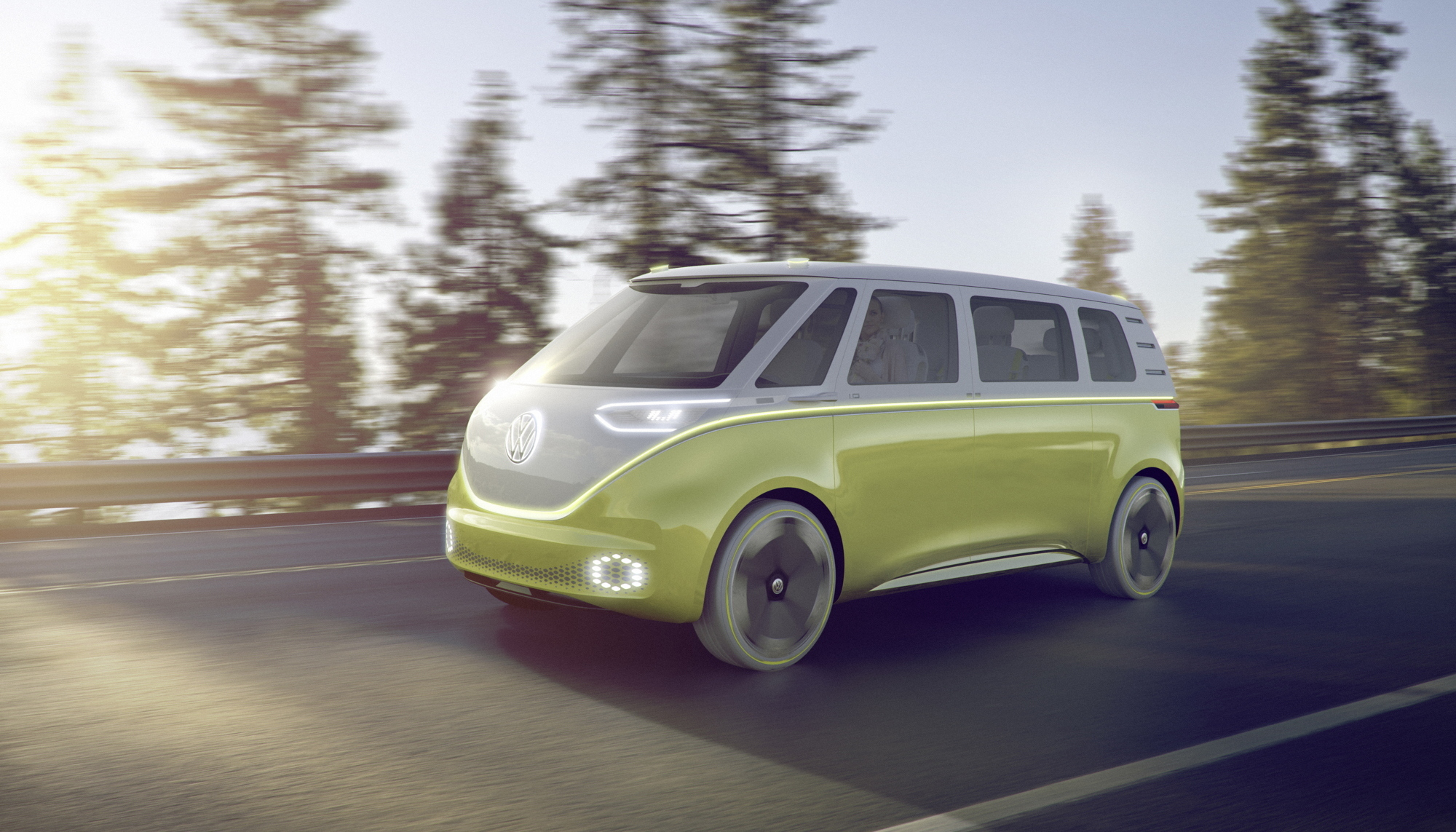 Volkswagen I.D. BUZZ camper concept