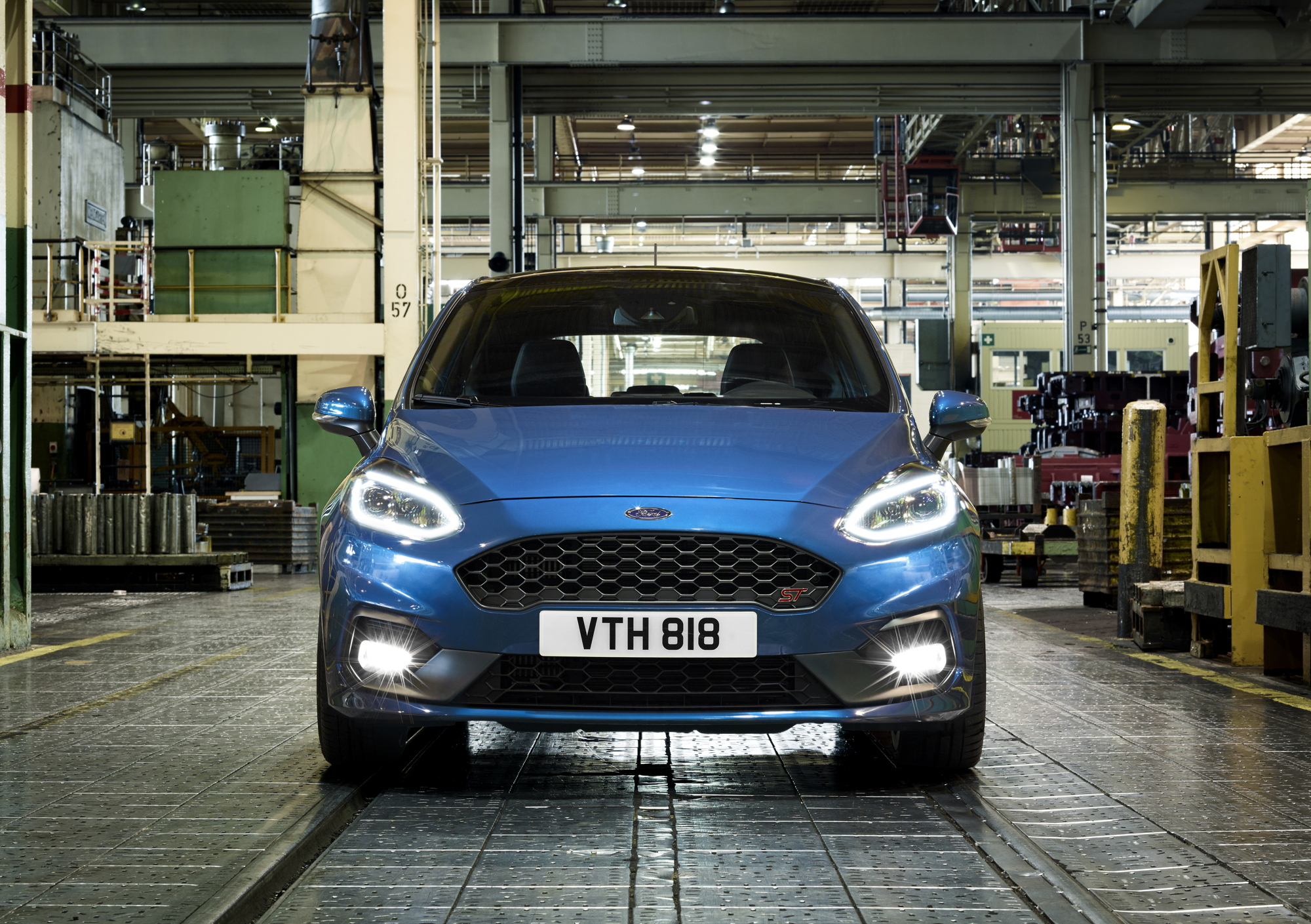 2018 Ford Fiesta ST front
