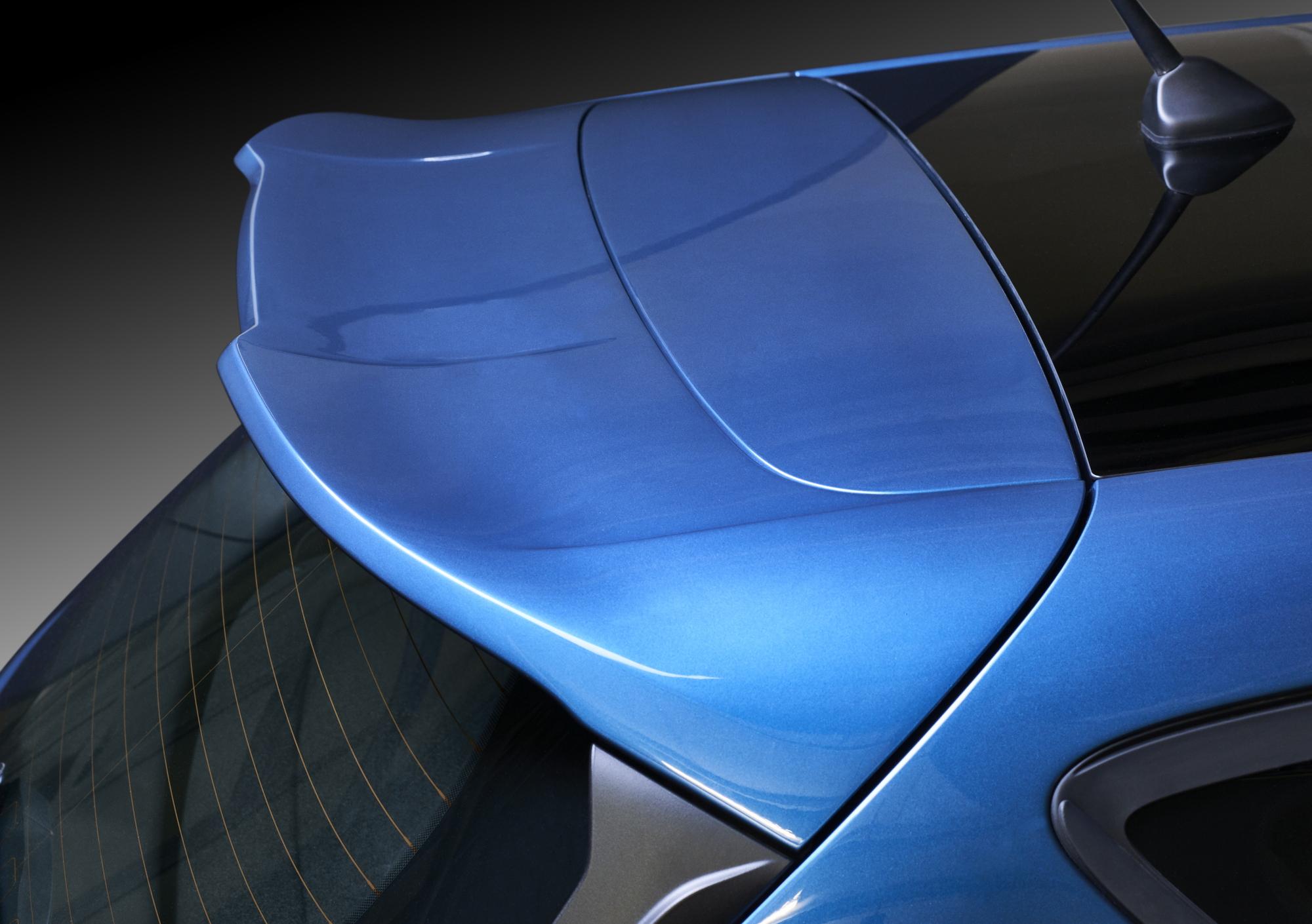 2018 Ford Fiesta ST spoiler