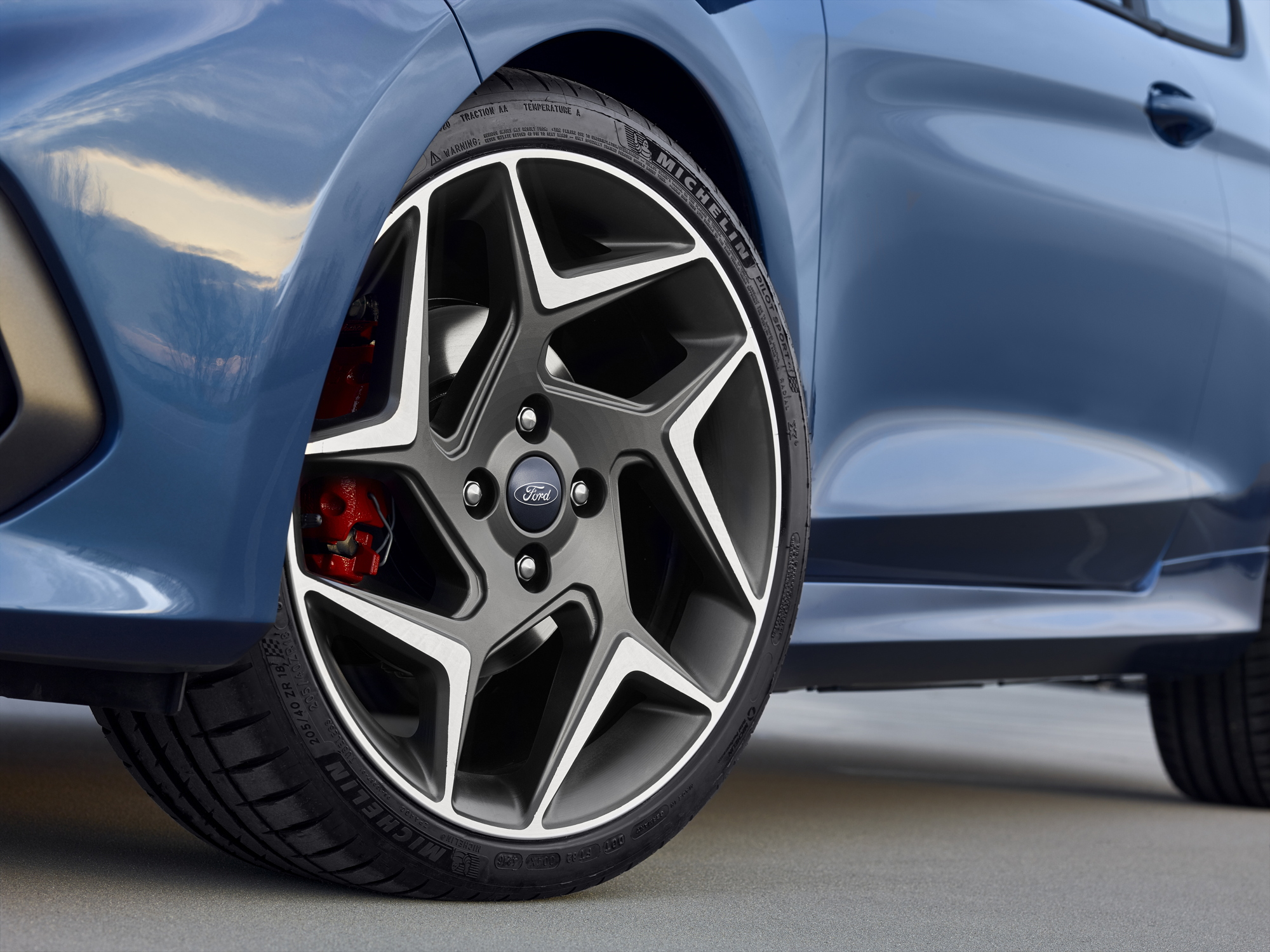 2018 Ford Fiesta ST wheels