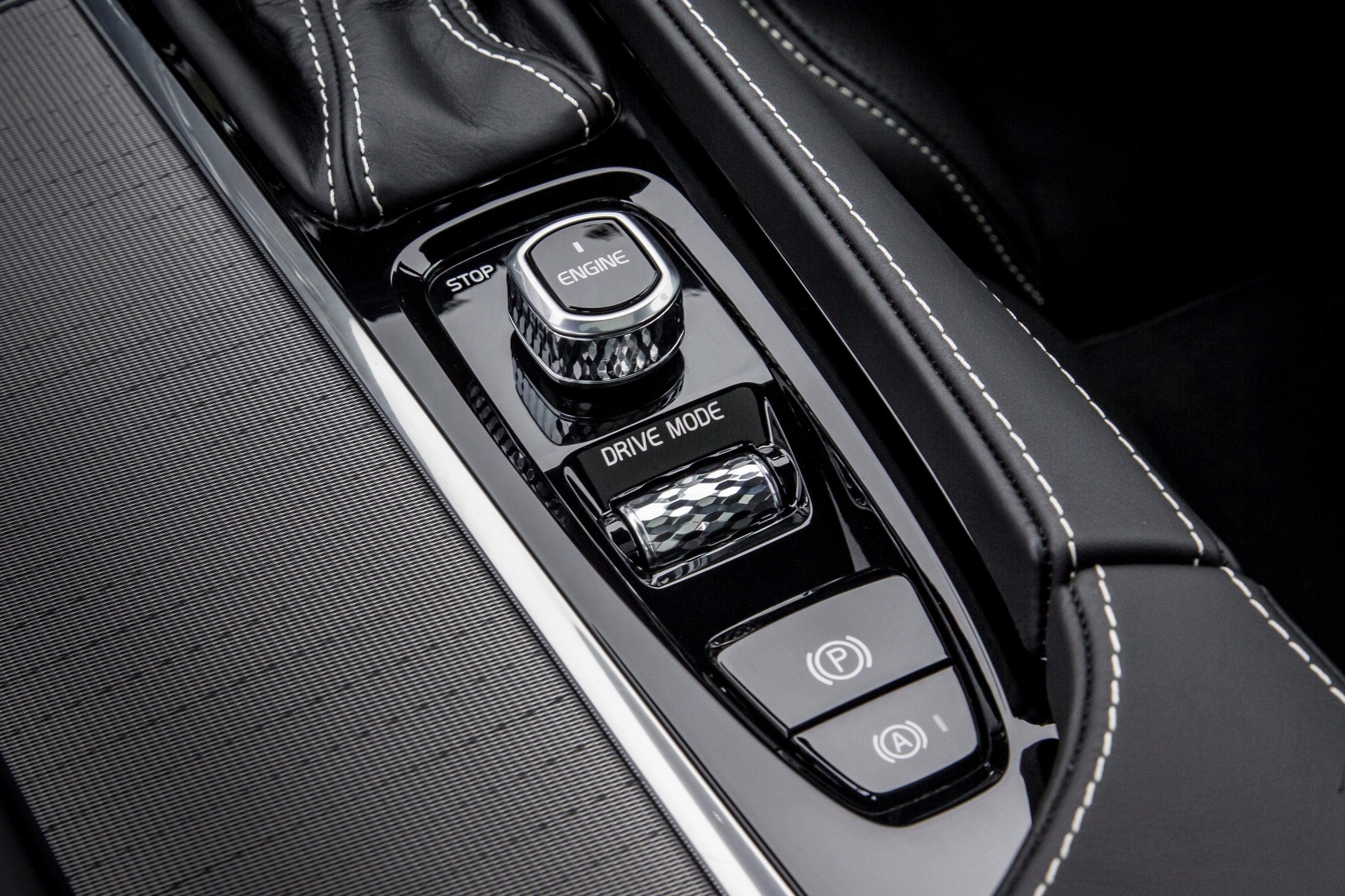 Volvo S90 R-Design centre console