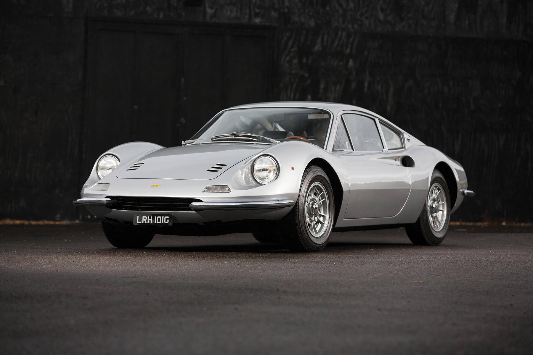 RM Sotheby's Retromobile - Ferrari Dino 206 GT profile
