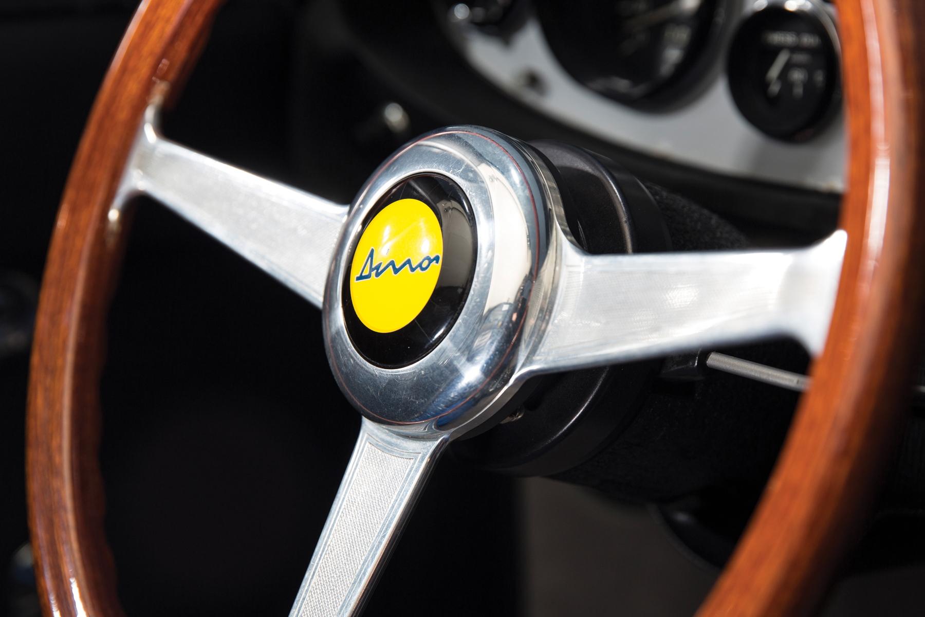RM Sotheby's Retromobile - Ferrari Dino 206 GT steering wheel