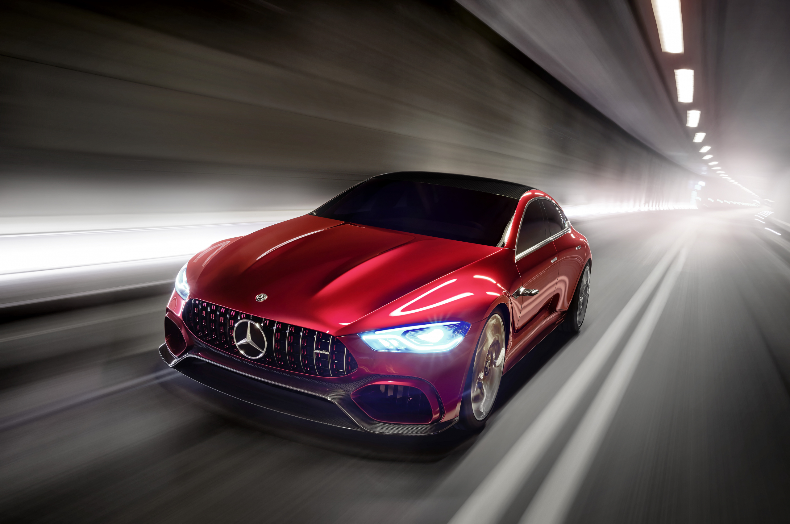 Geneva Showcar Mercedes-AMG GT Concept