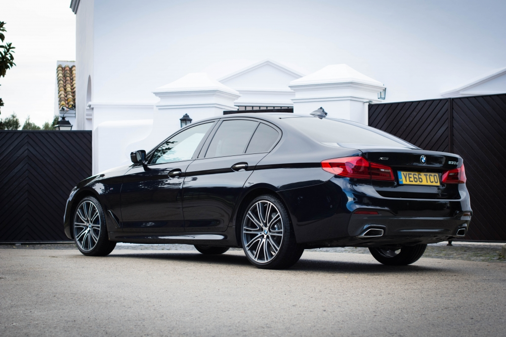 2017 BMW 530d xDrive rear