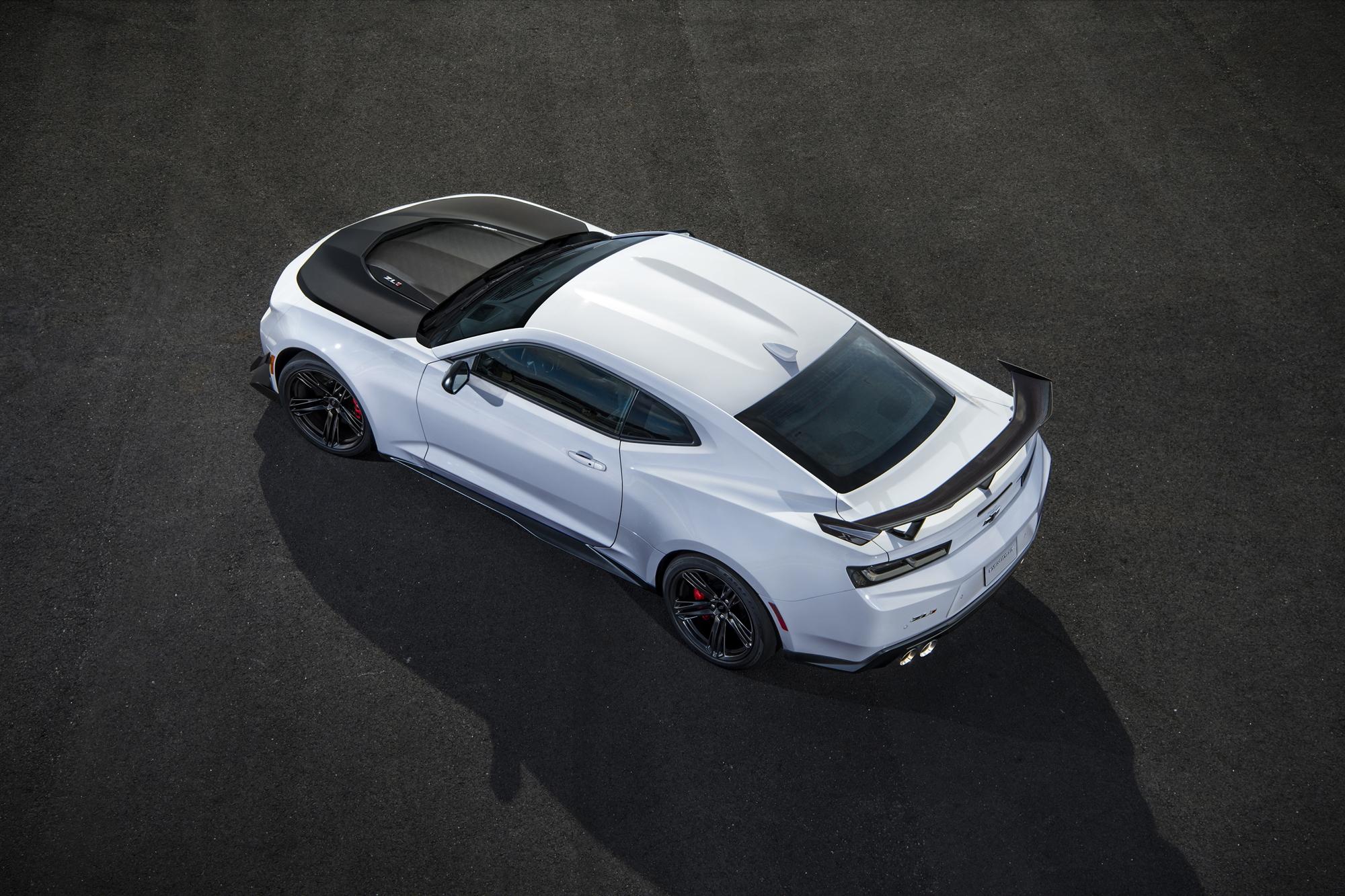 2018 Chevrolet Camaro ZL1 1LE profile