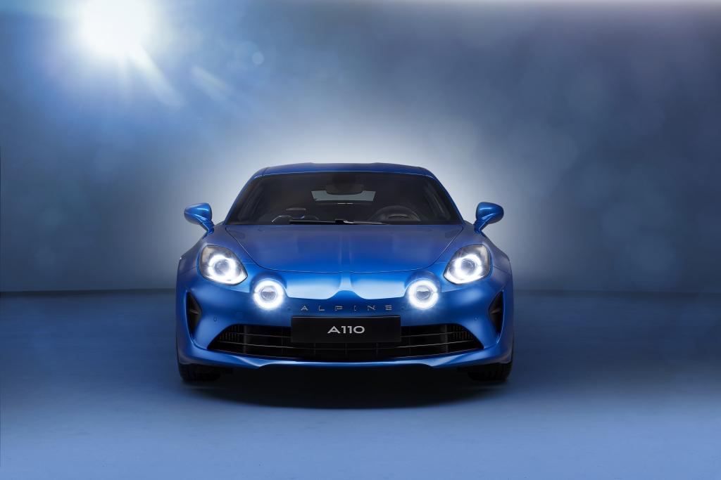 Alpine A110 Geneva Motor Show Debut
