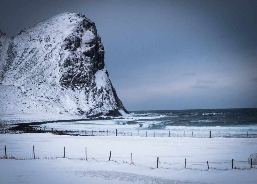 Unstad beach, Lofoten, Norway