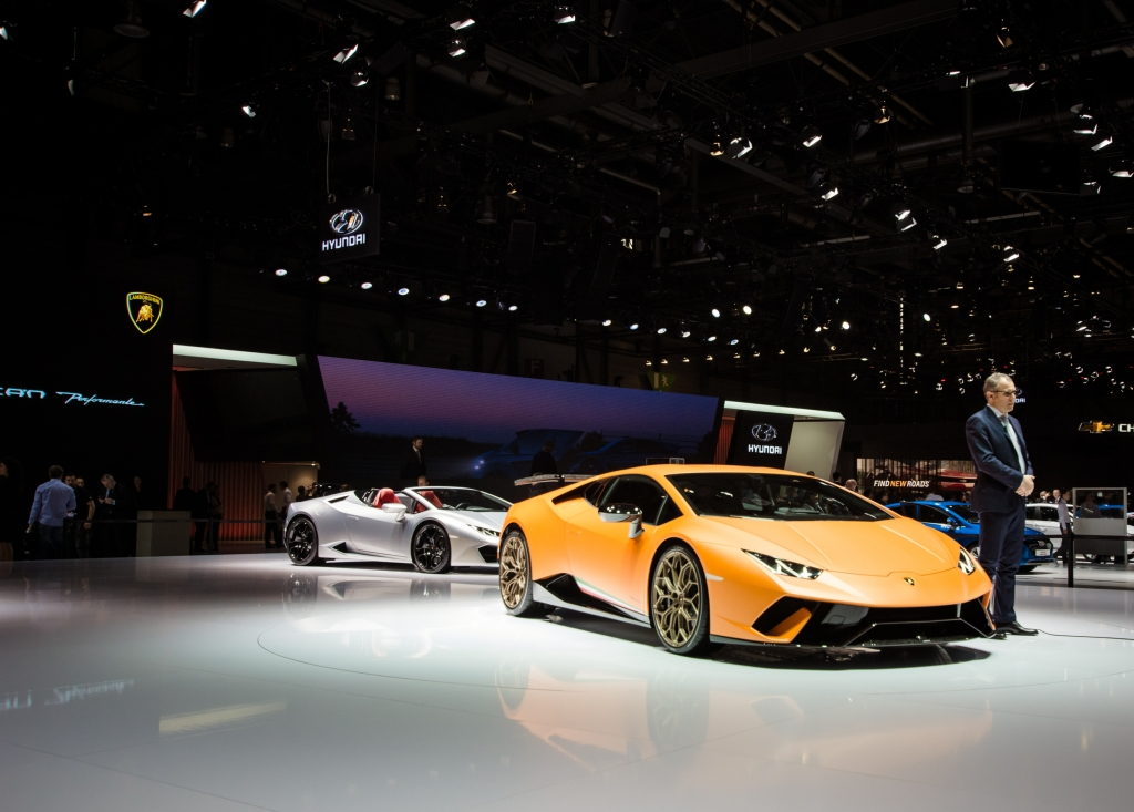 Lamborghini Huracan Performante Geneva motor show 2017