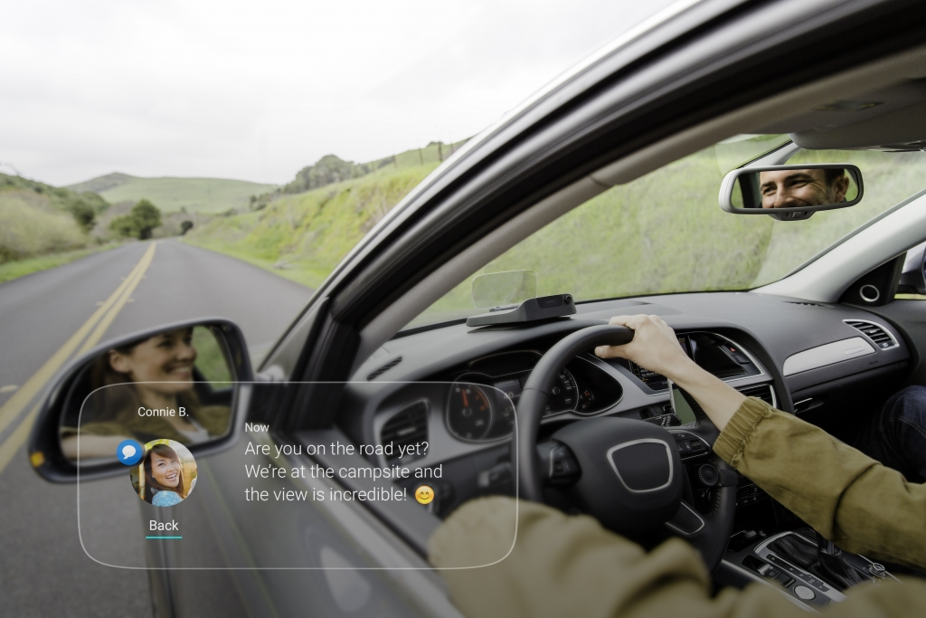 Navdy Head Up Display