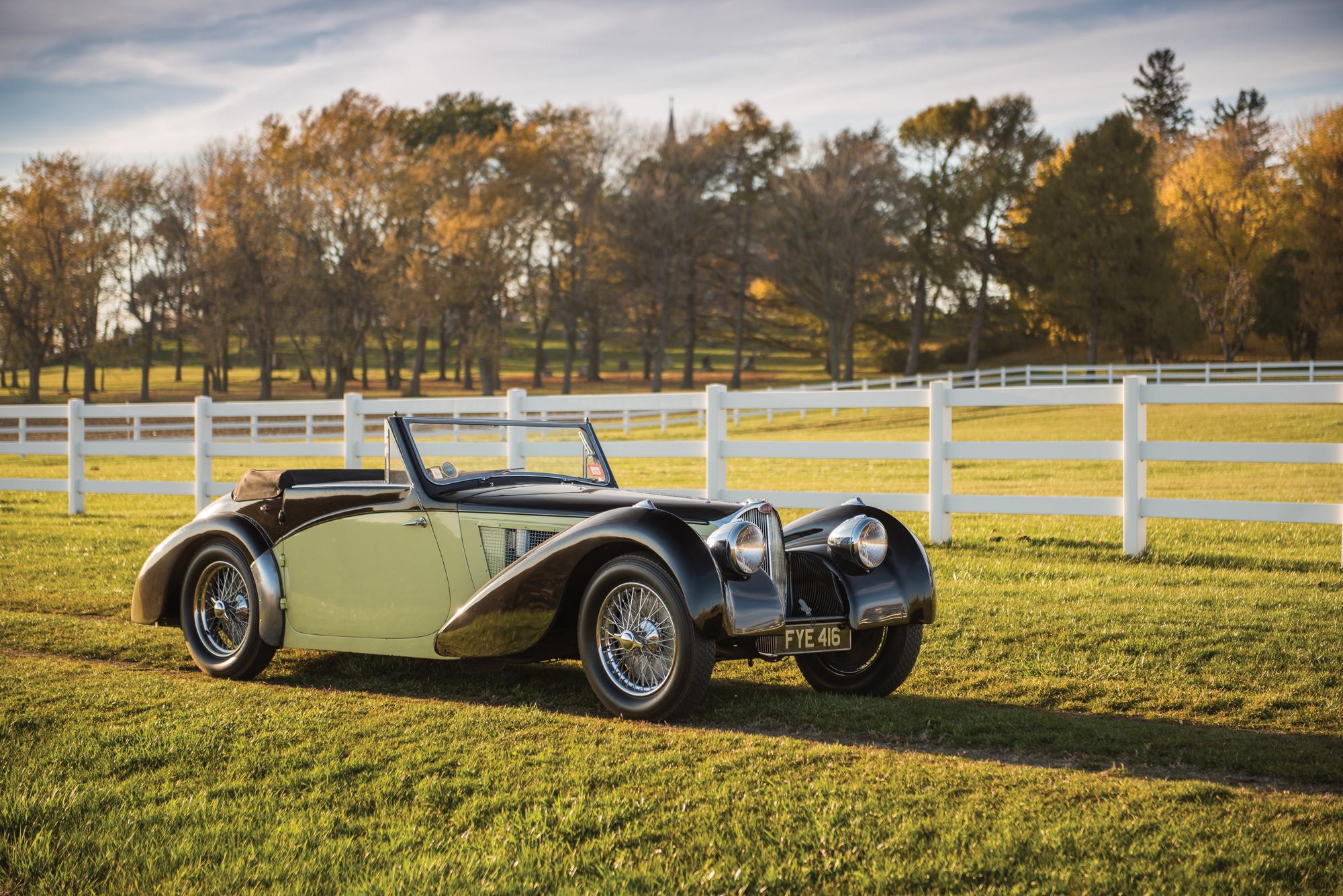 RM Sotheby's Bugatti Type 57S Cabriolet Amelia