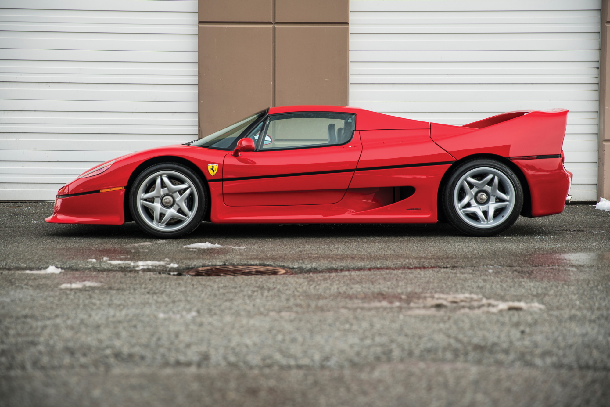 RM Sotheby's Ferrari F50 Amelia Island