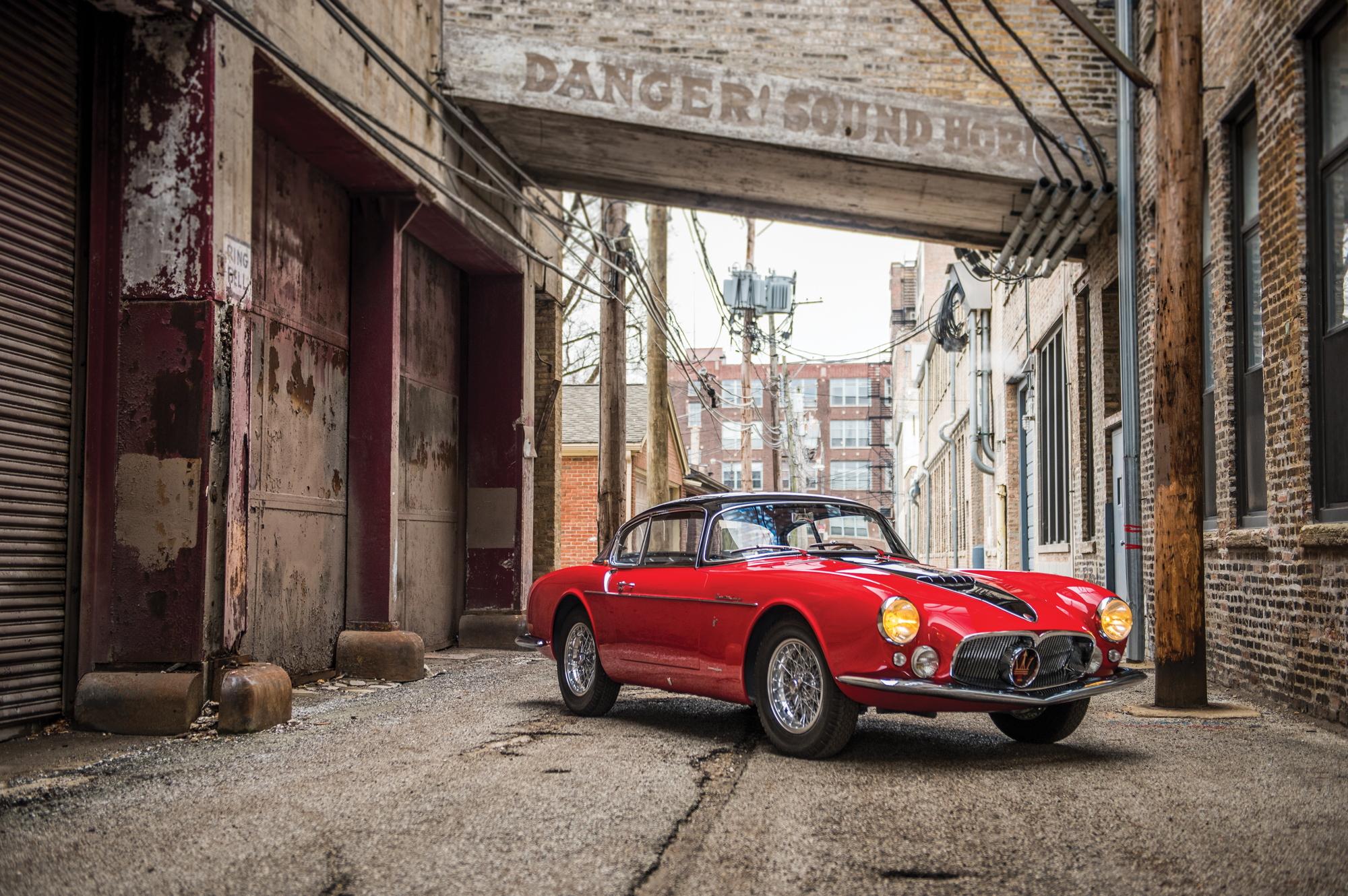 RM Sotheby's Maserati A6G Amelia Island