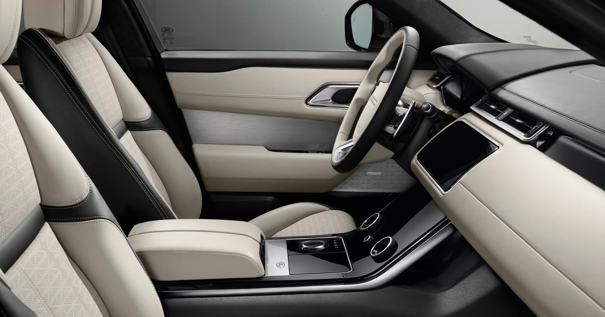 Range Rover Velar centre console