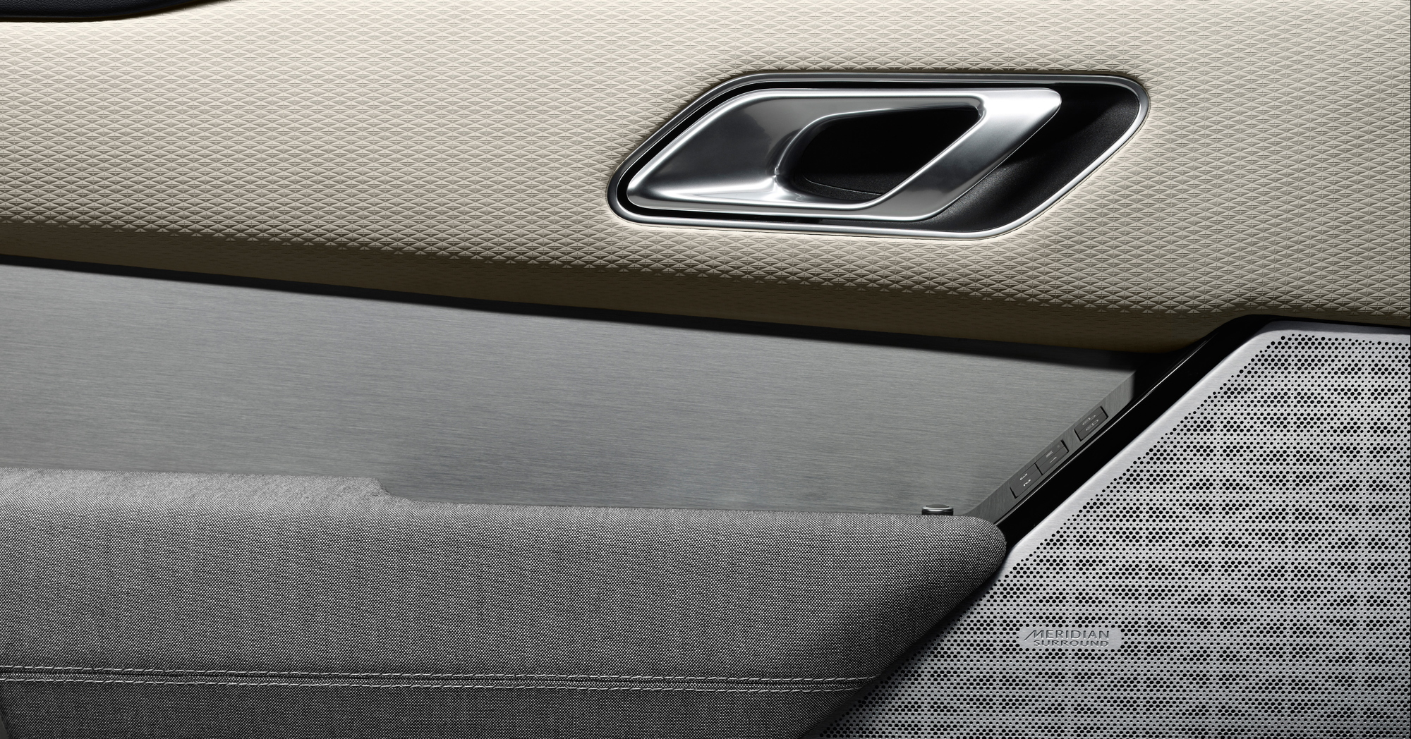 Range Rover Velar interior detail
