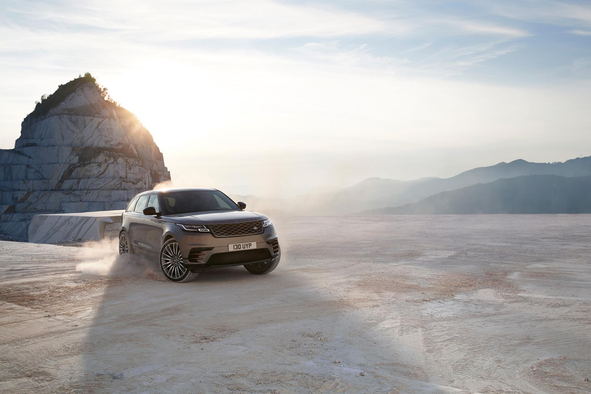 Range Rover Velar front 3/4