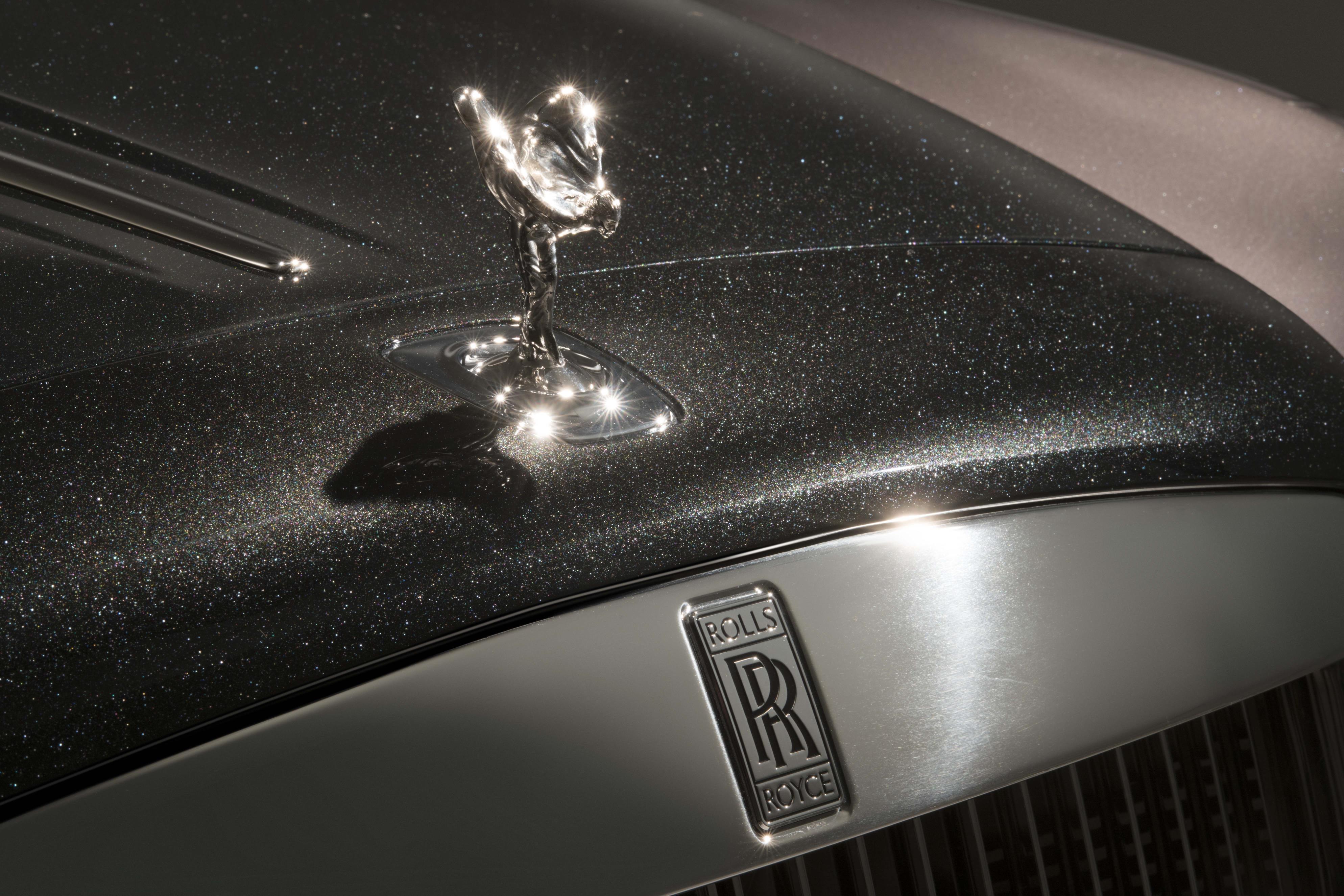 Rolls-Royce Ghost diamond paint