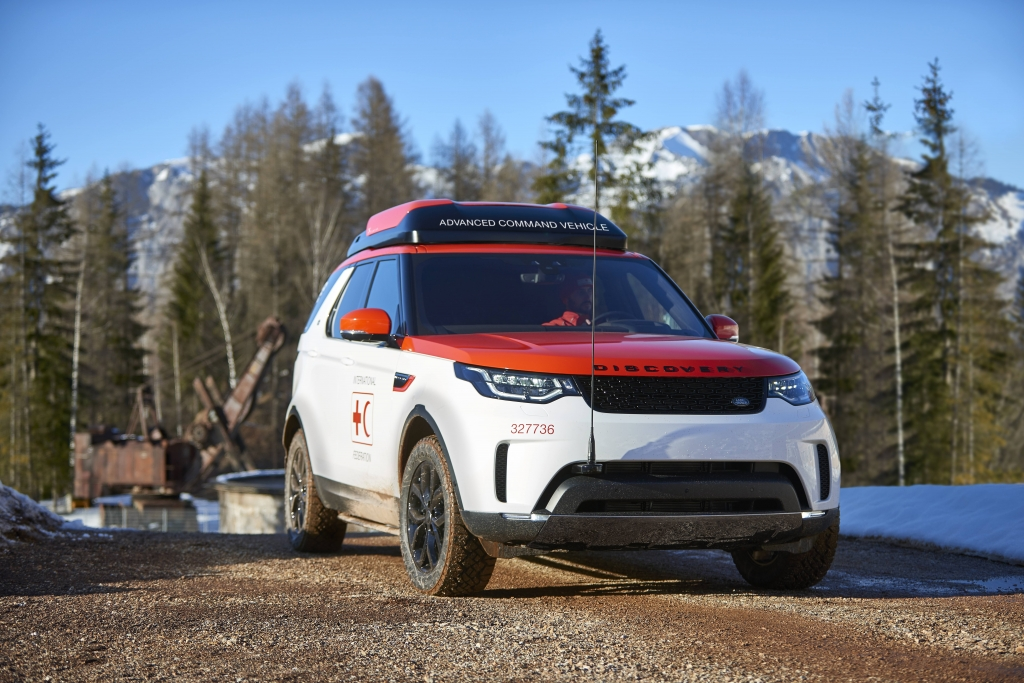 Land Rover Discovery Project Hero Geneva 2017
