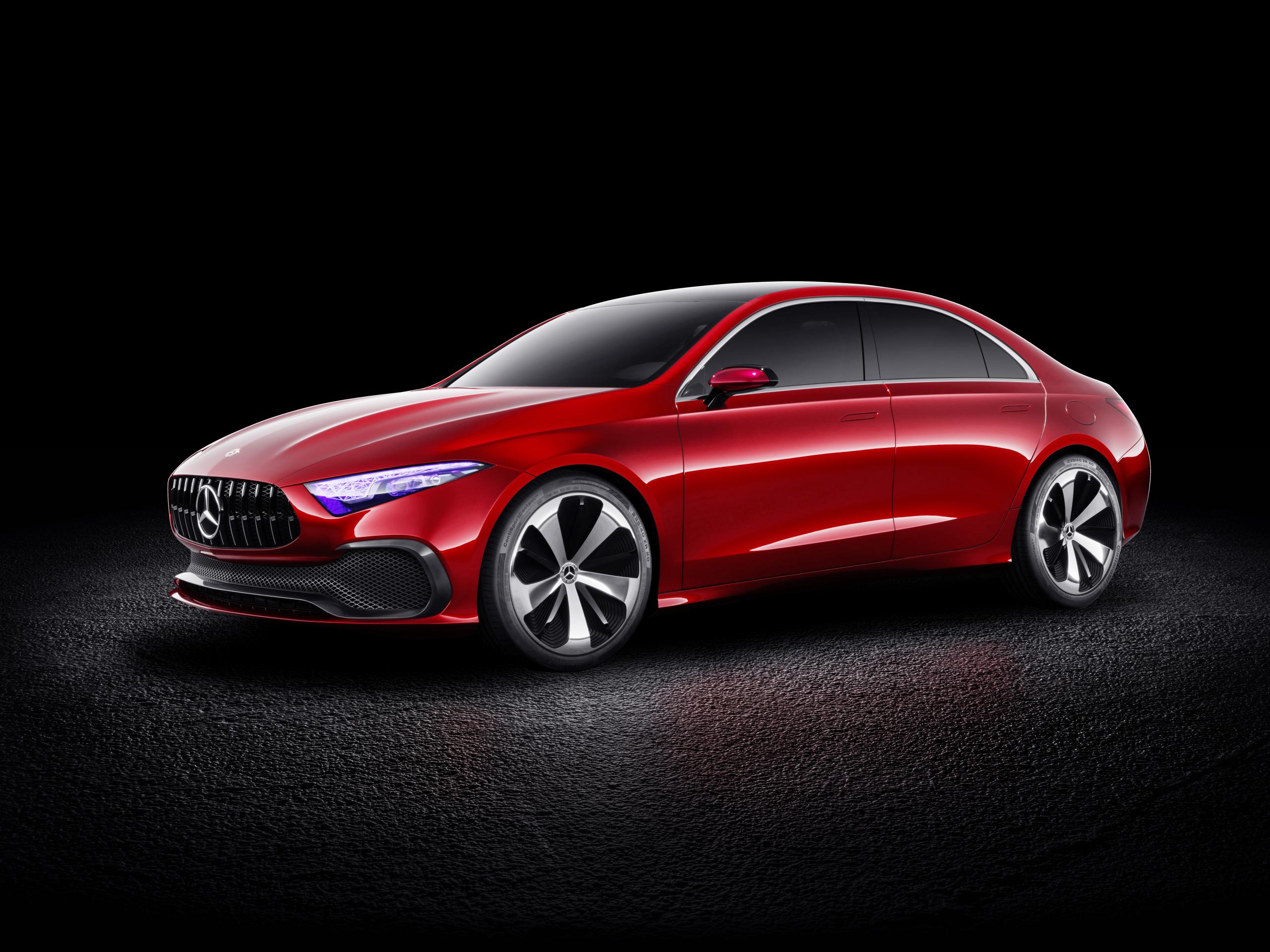 Mercedes-Benz Concept A Sedan front