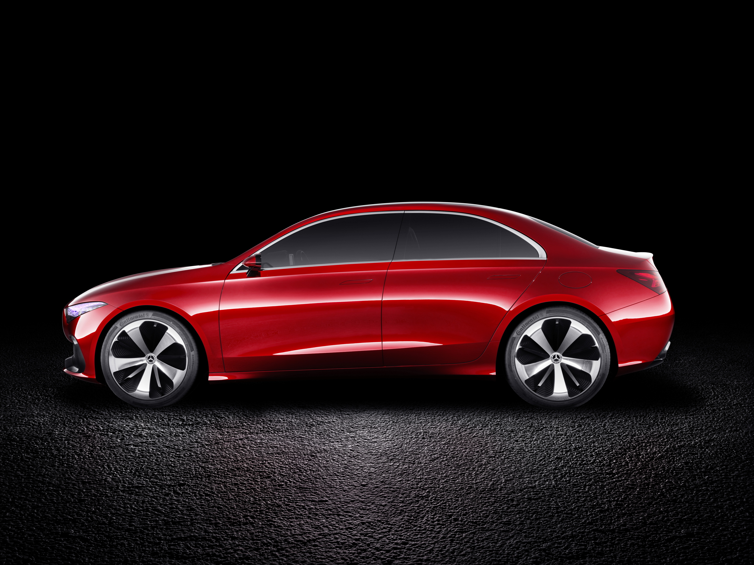 Mercedes-Benz Concept A Sedan side