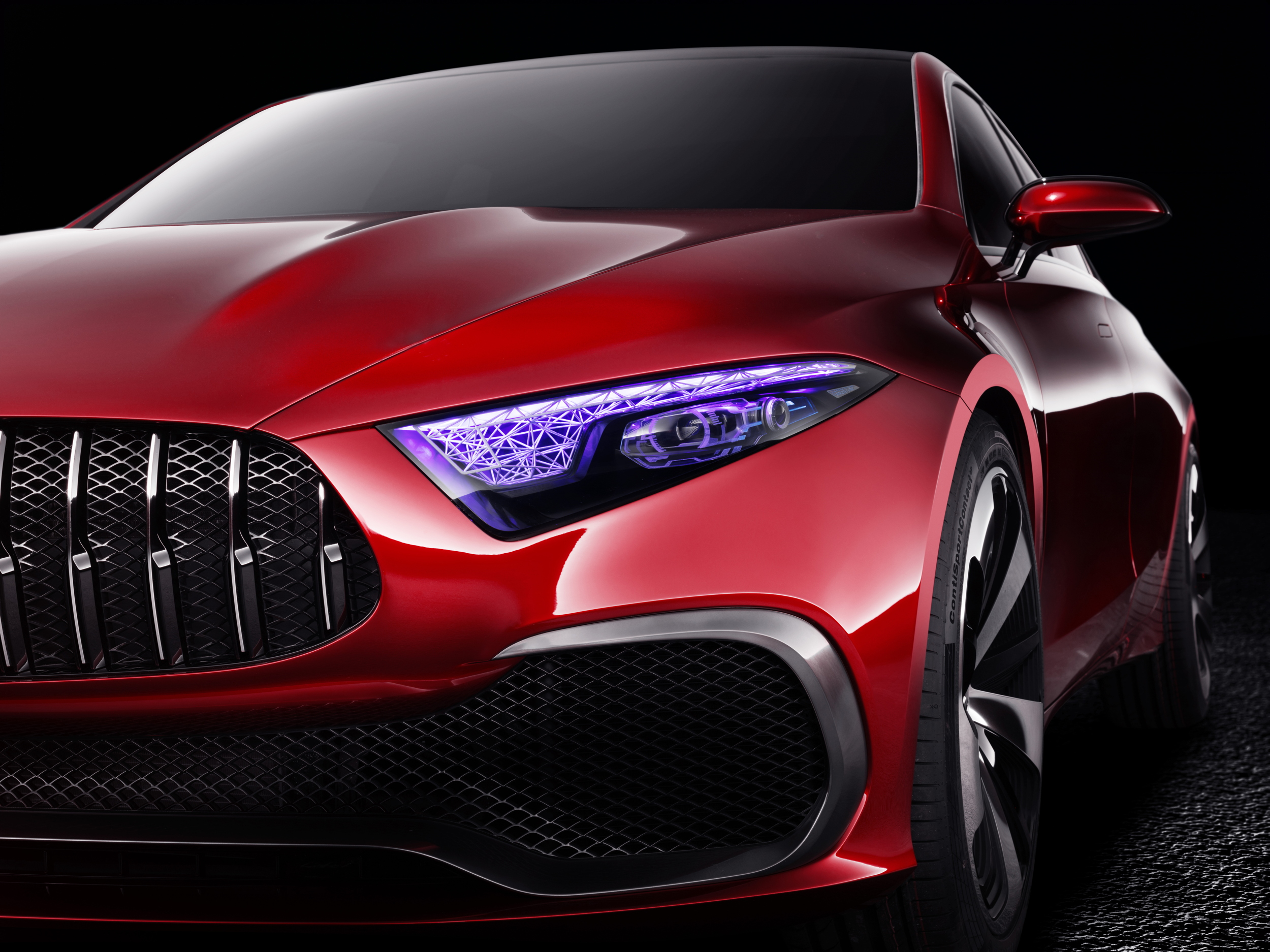 Mercedes-Benz Concept A Sedan front detail
