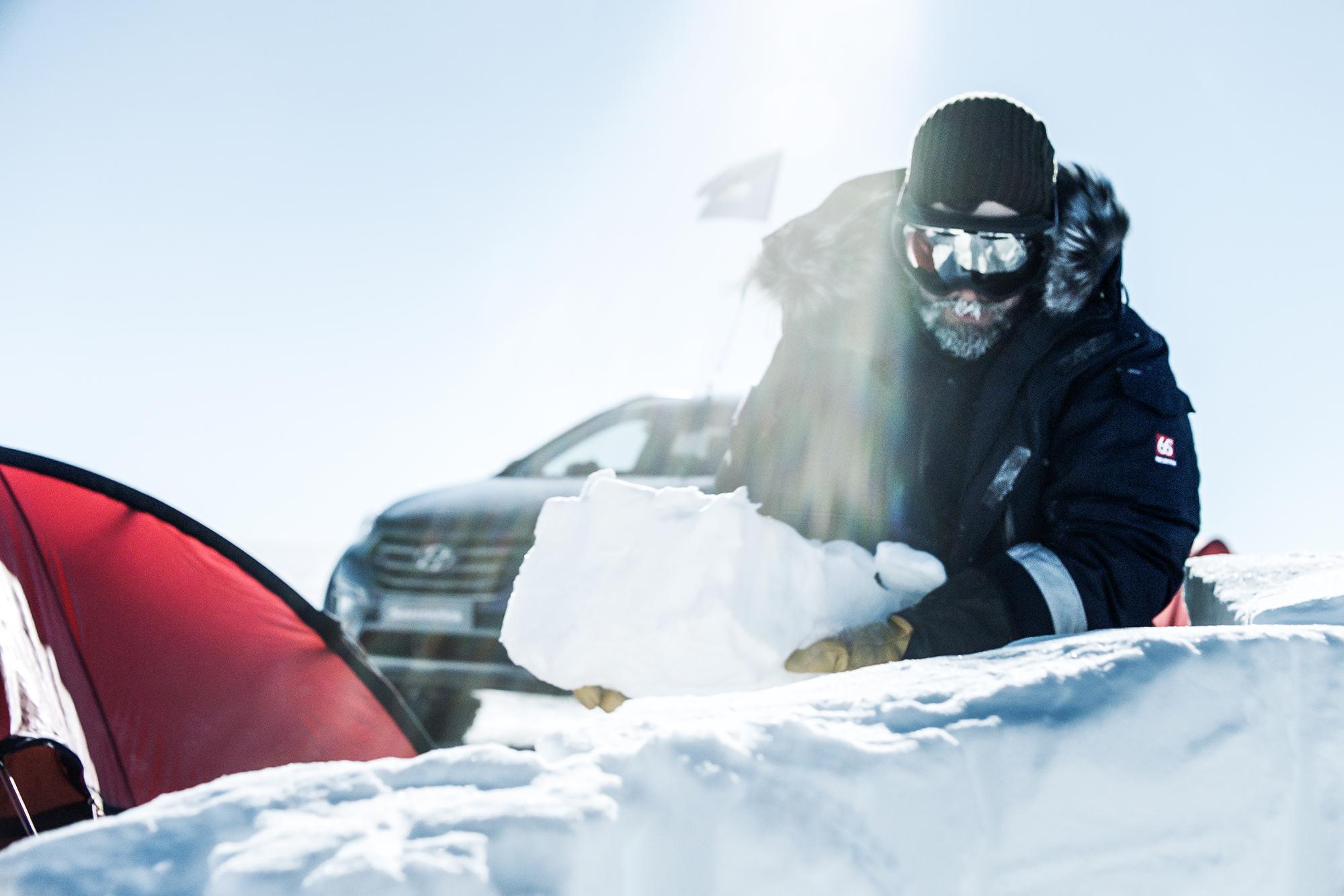 Hyundai Antarctic expedition