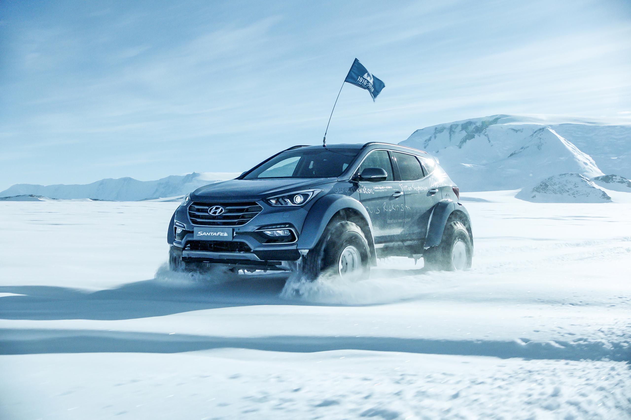 Antarctic Hyundai Santa Fe
