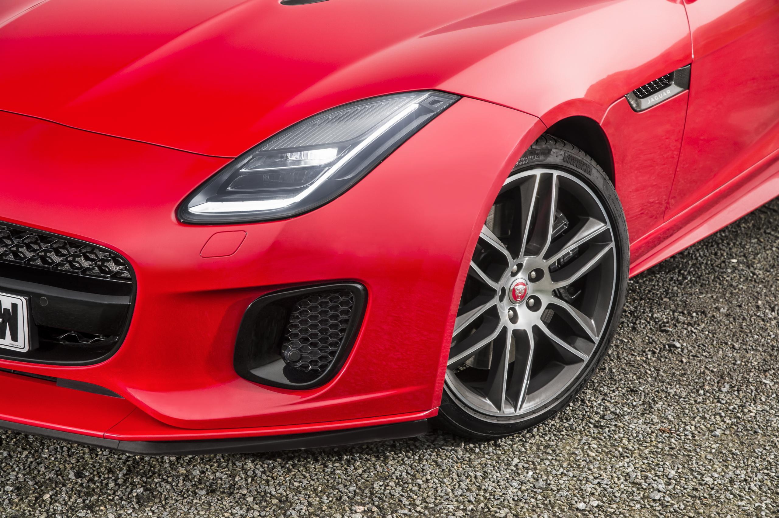 2018 Jaguar F-Type front bumper