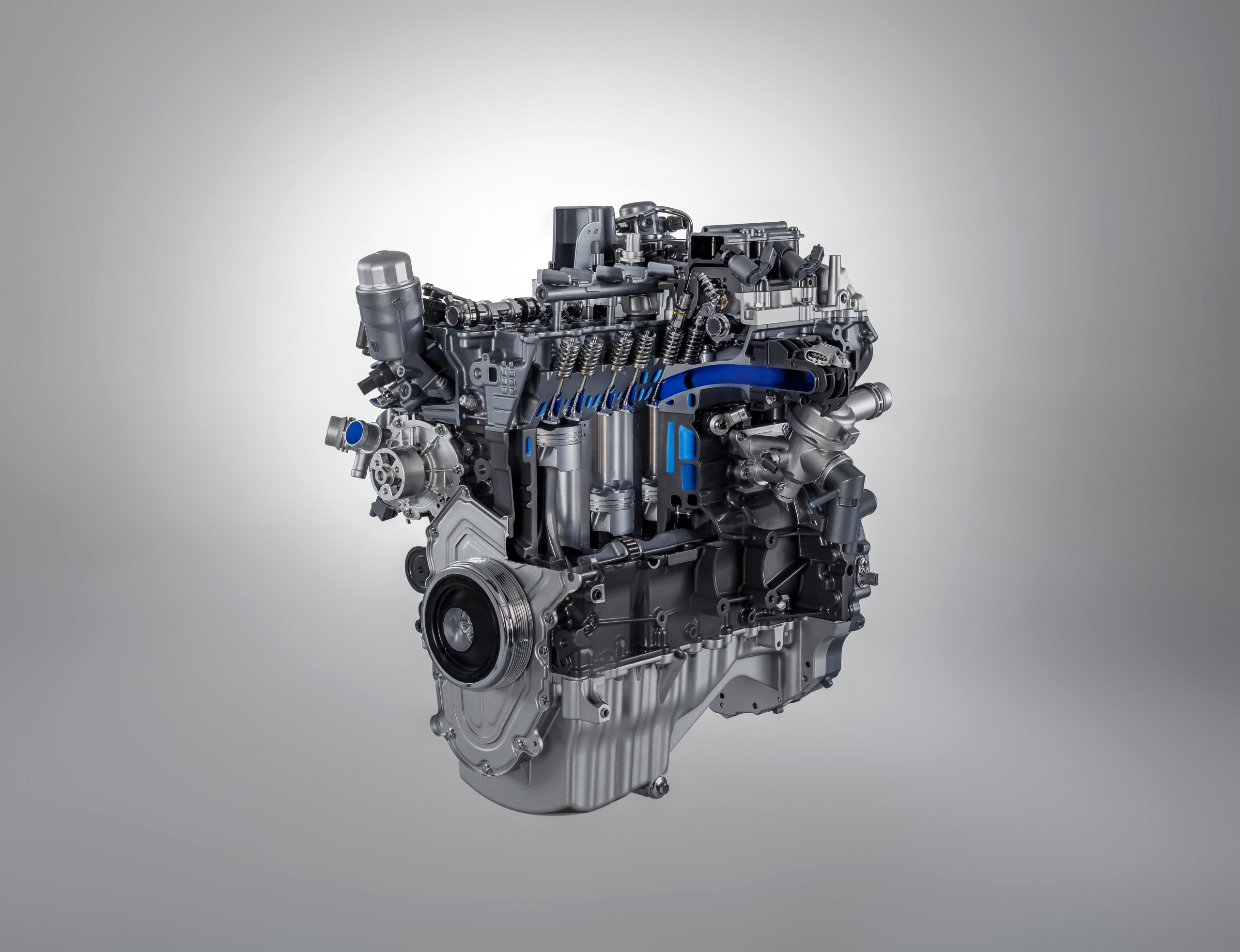 Jaguar F-Type Ingenium engine