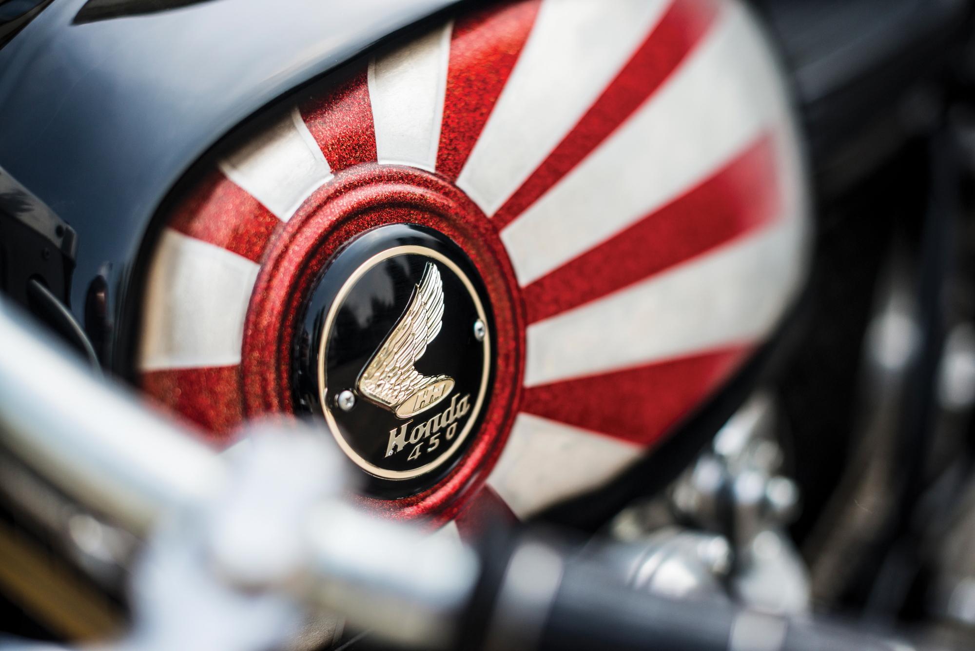 Honda CB450 Krugger tank 2017 Villa Erba