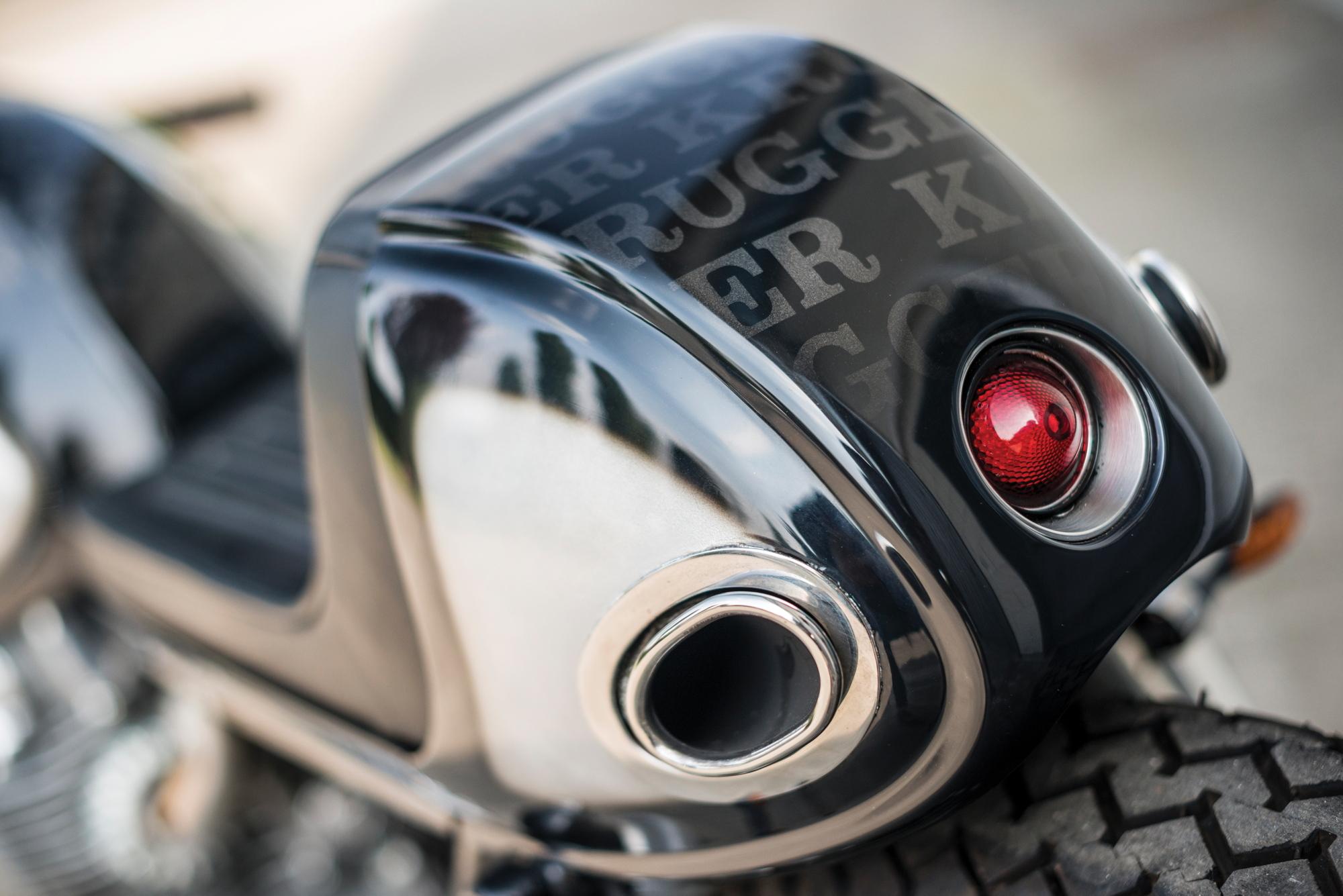 Honda CB450 Krugger tail 2017 Villa Erba