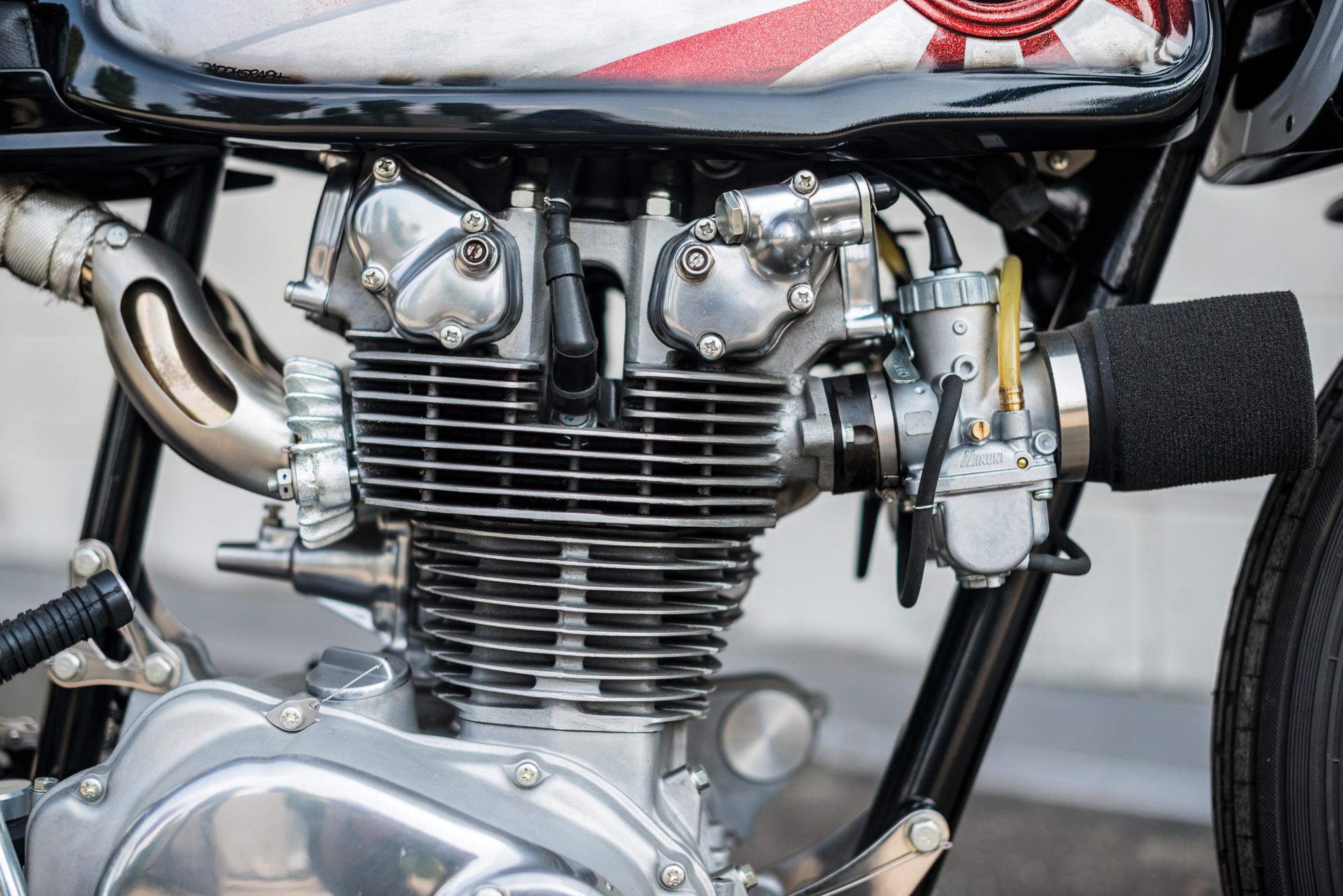 Honda CB450 Krugger engine 2017 Villa Erba