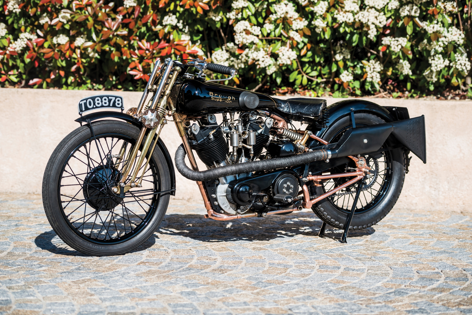 Brough Superior SS100 Moby Dick 2017 Villa Erba
