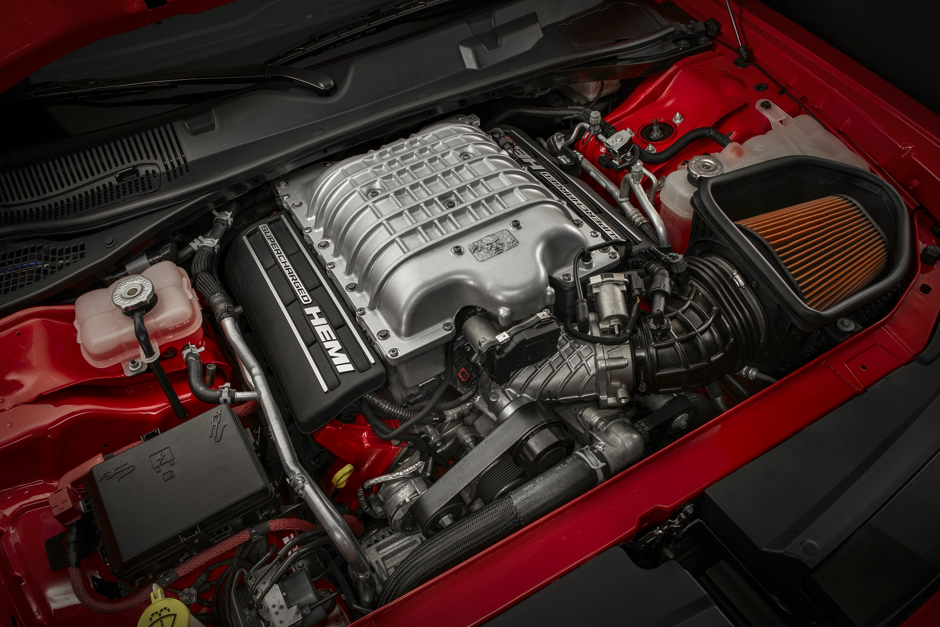Dodge Challenger SRT Demon engine