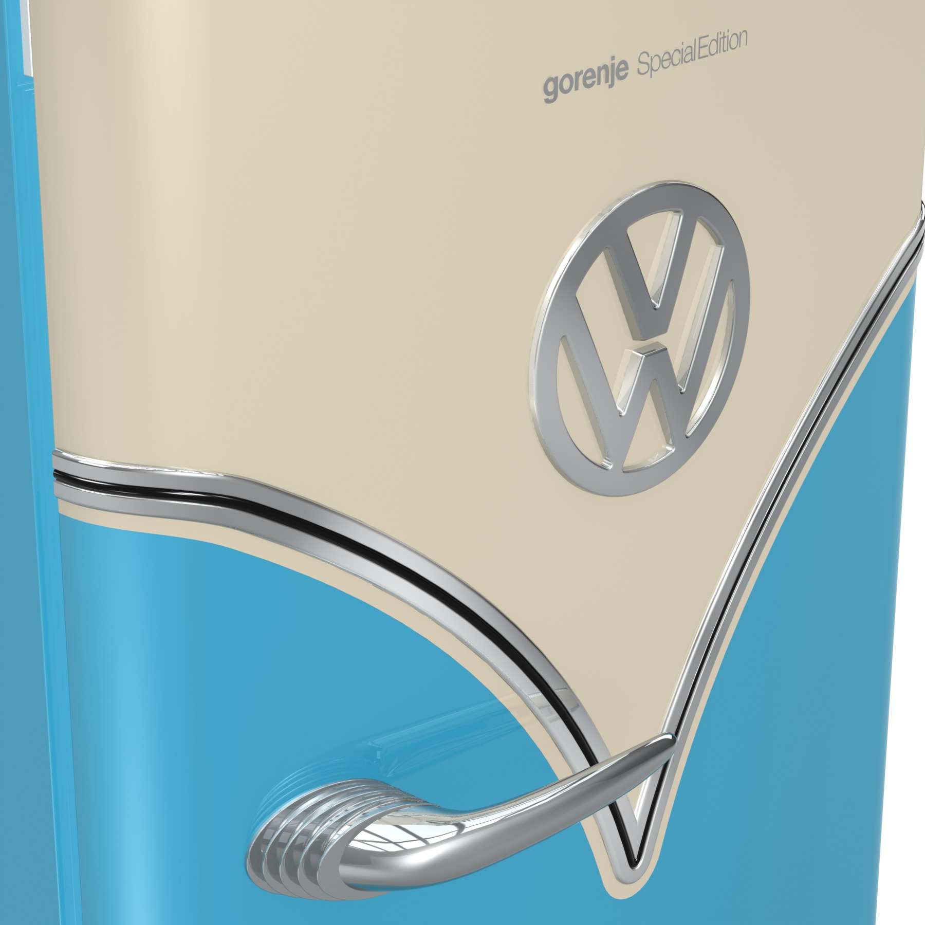 Gorenje VW fridge detail
