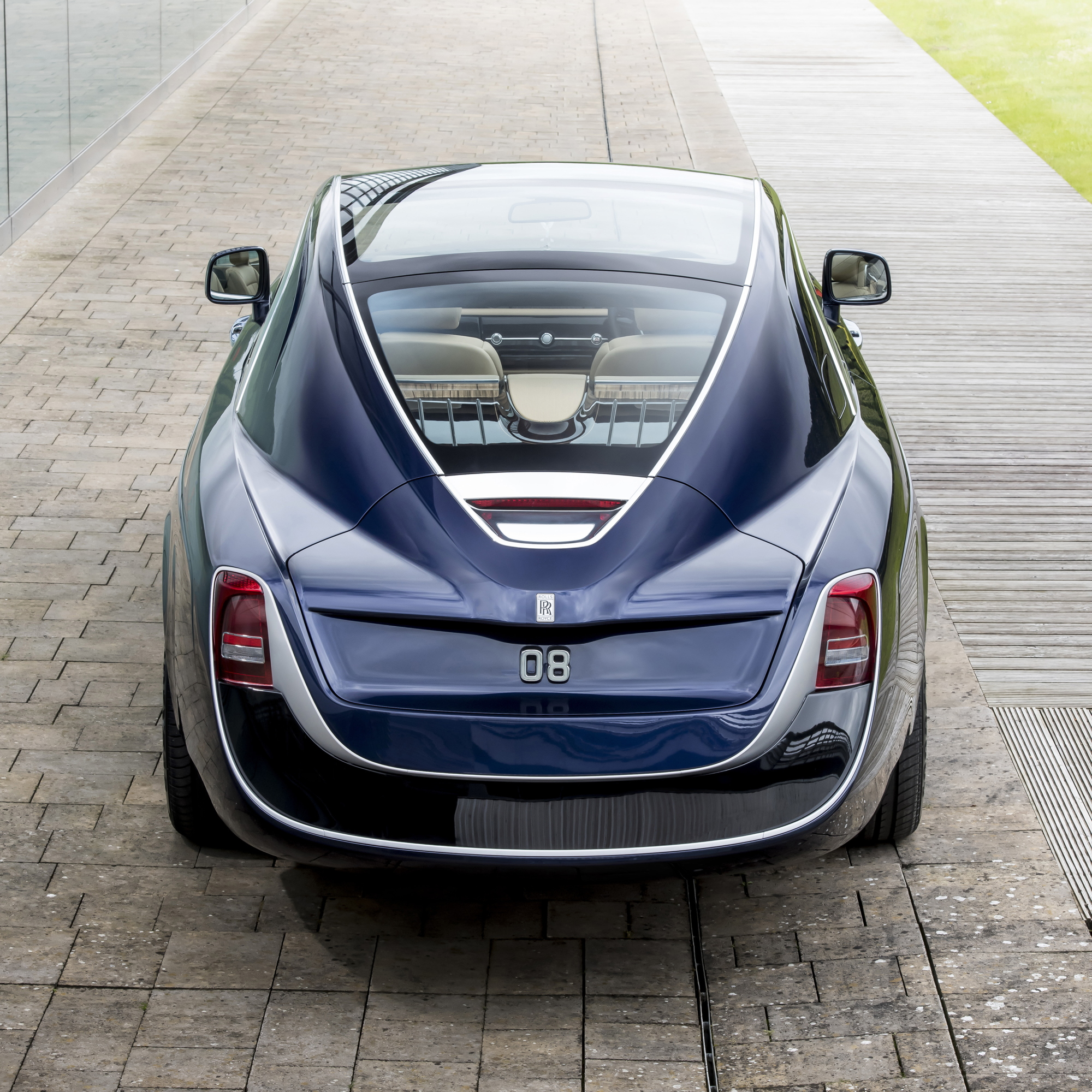 Rolls-Royce Sweptail rear