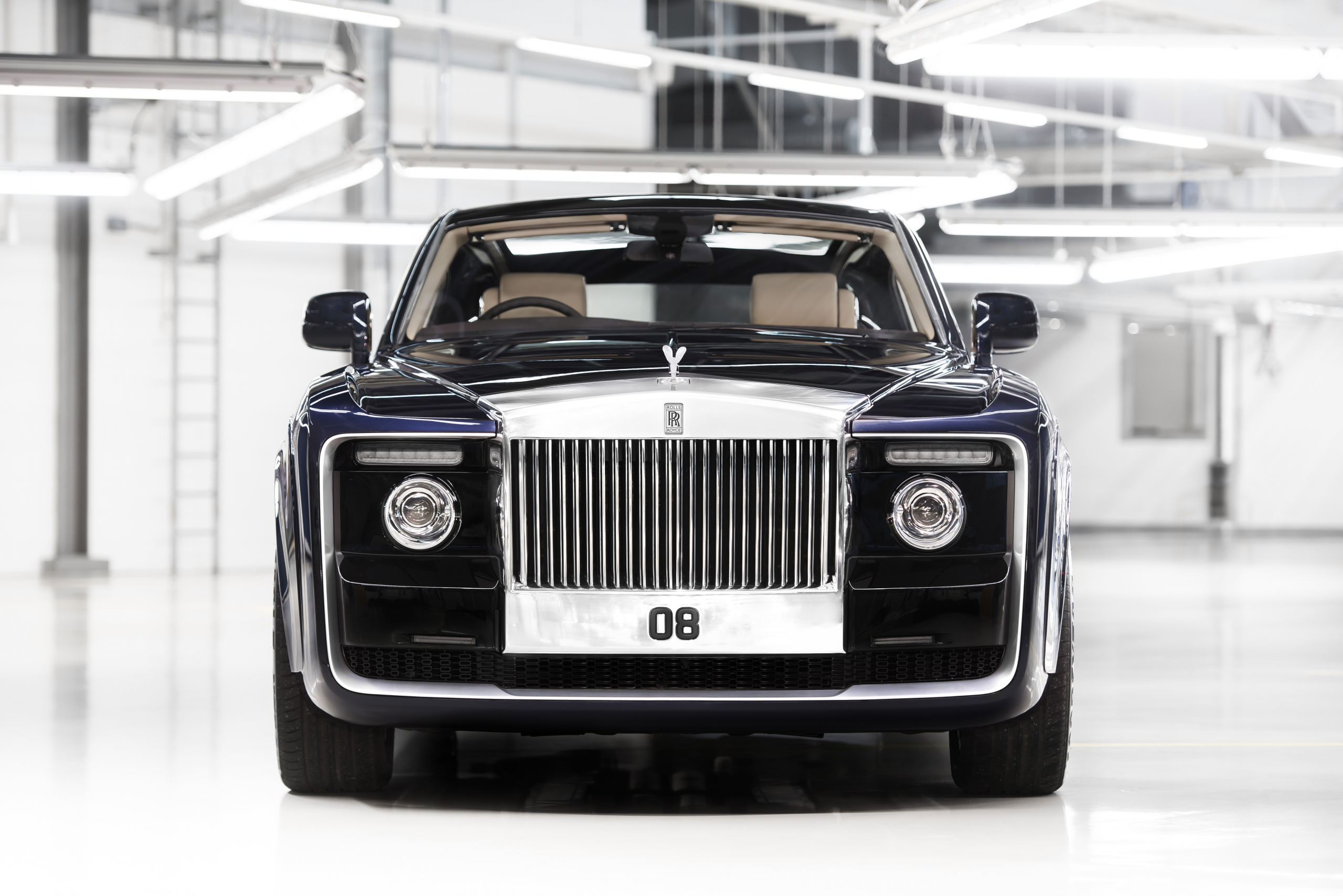Rolls-Royce Sweptail front