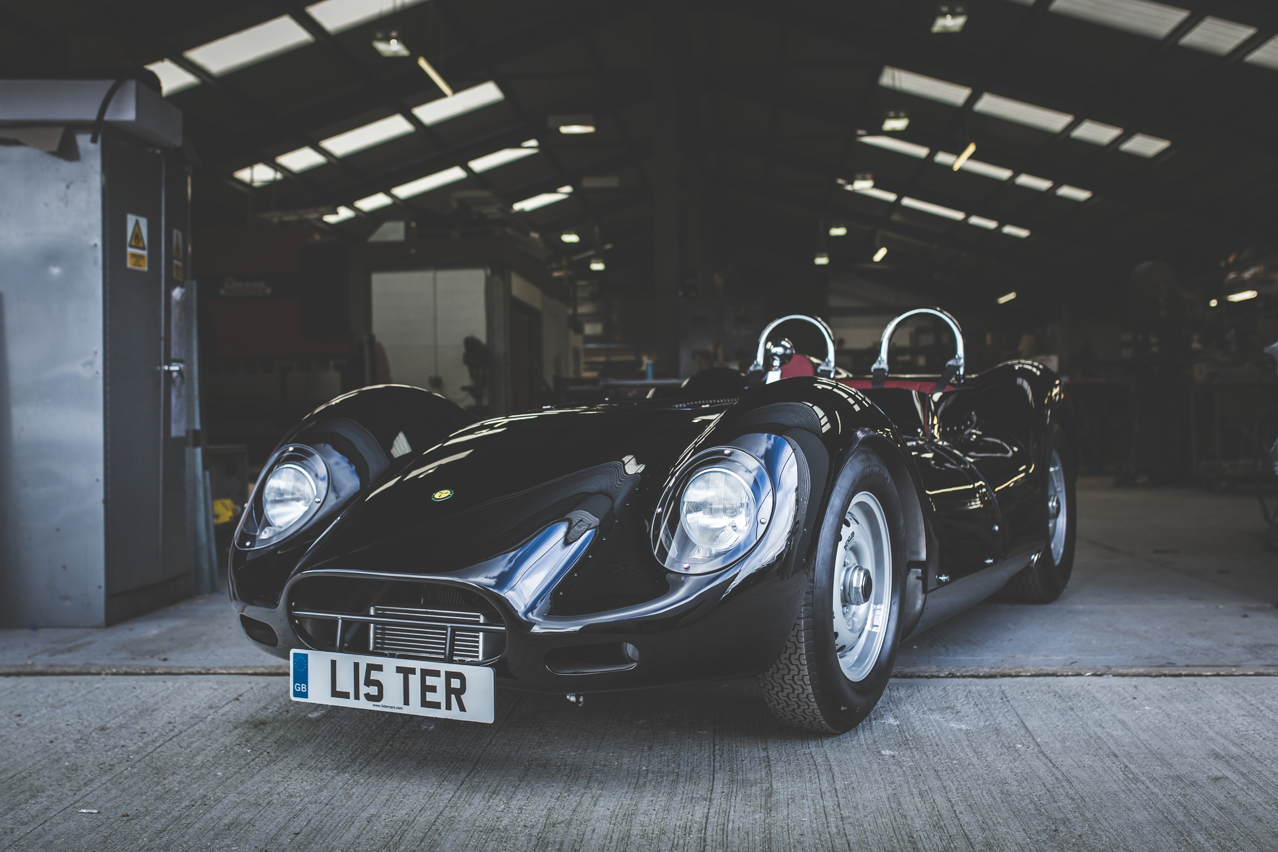 Lister Knobbly road-legal front
