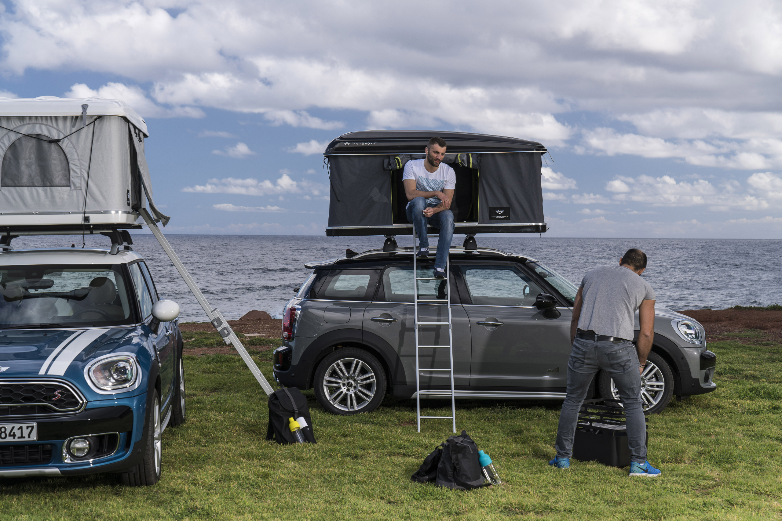 Camping with Mini Countryman