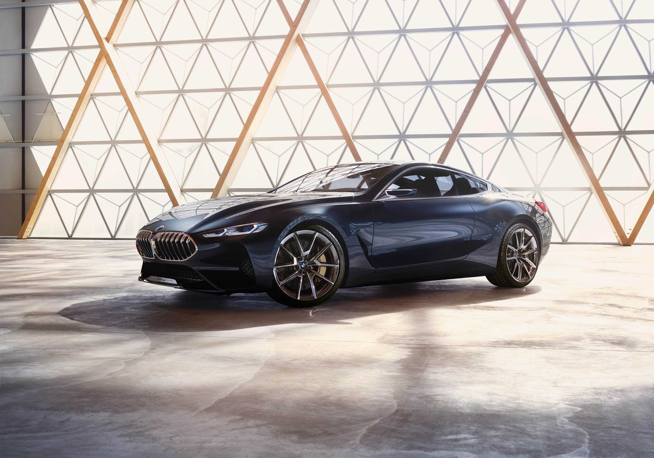 BMW Concept 8 Series front angle 2