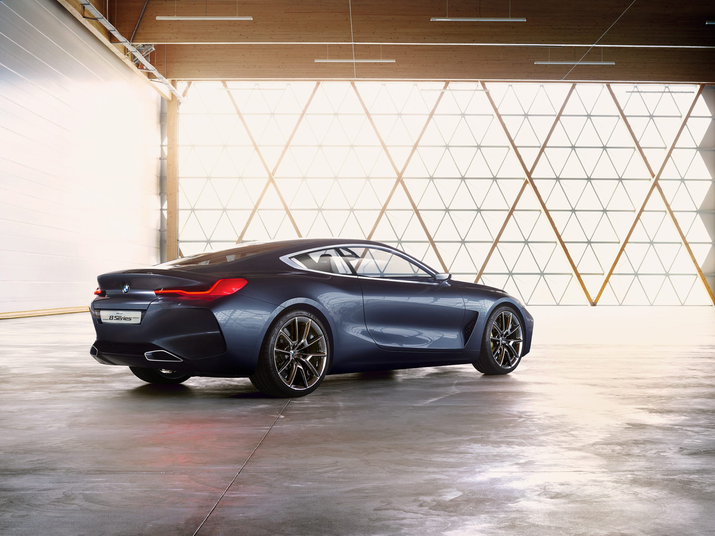 BMW Concept 8 Series rear angle 2