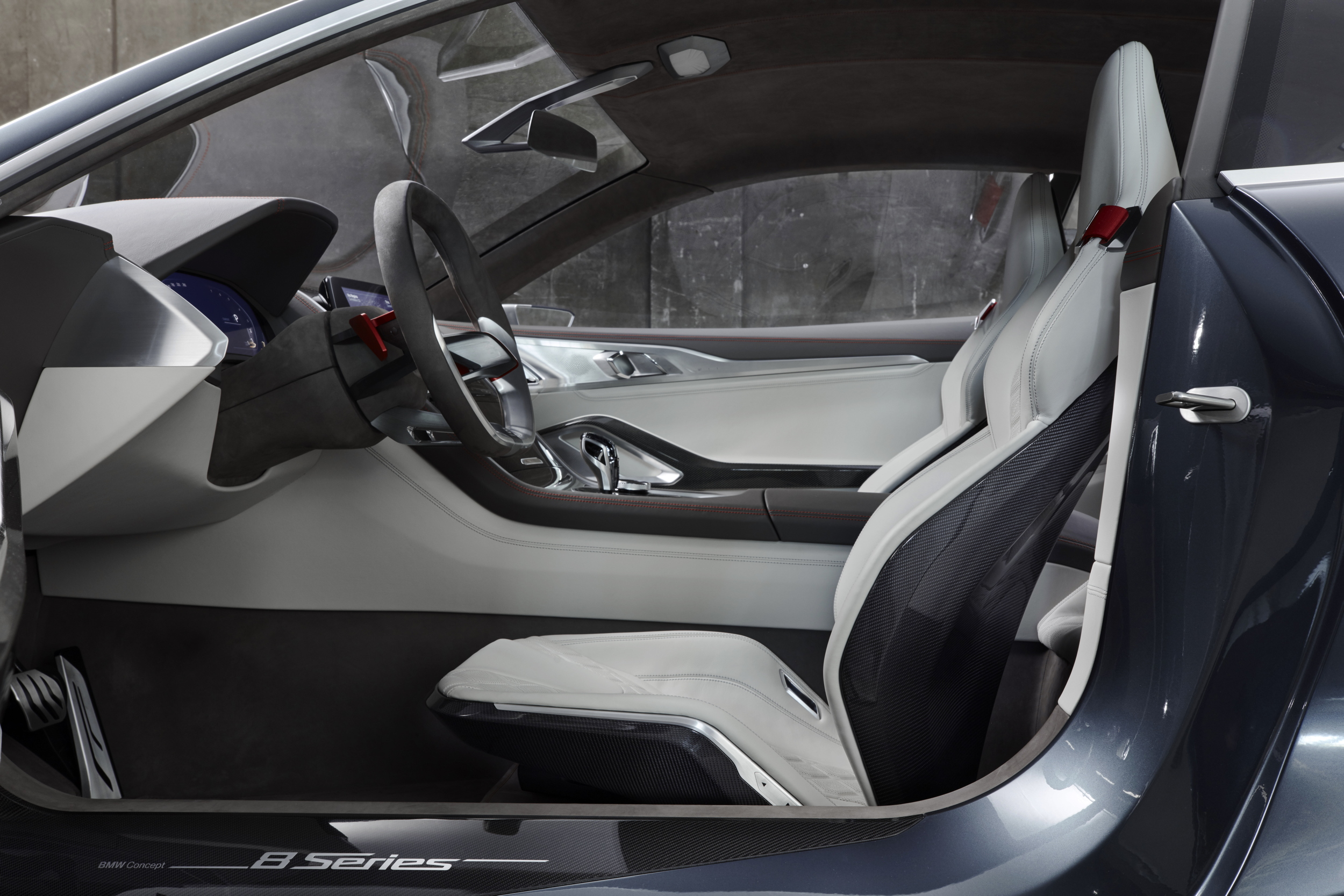 BMW Concept 8 Series interior side