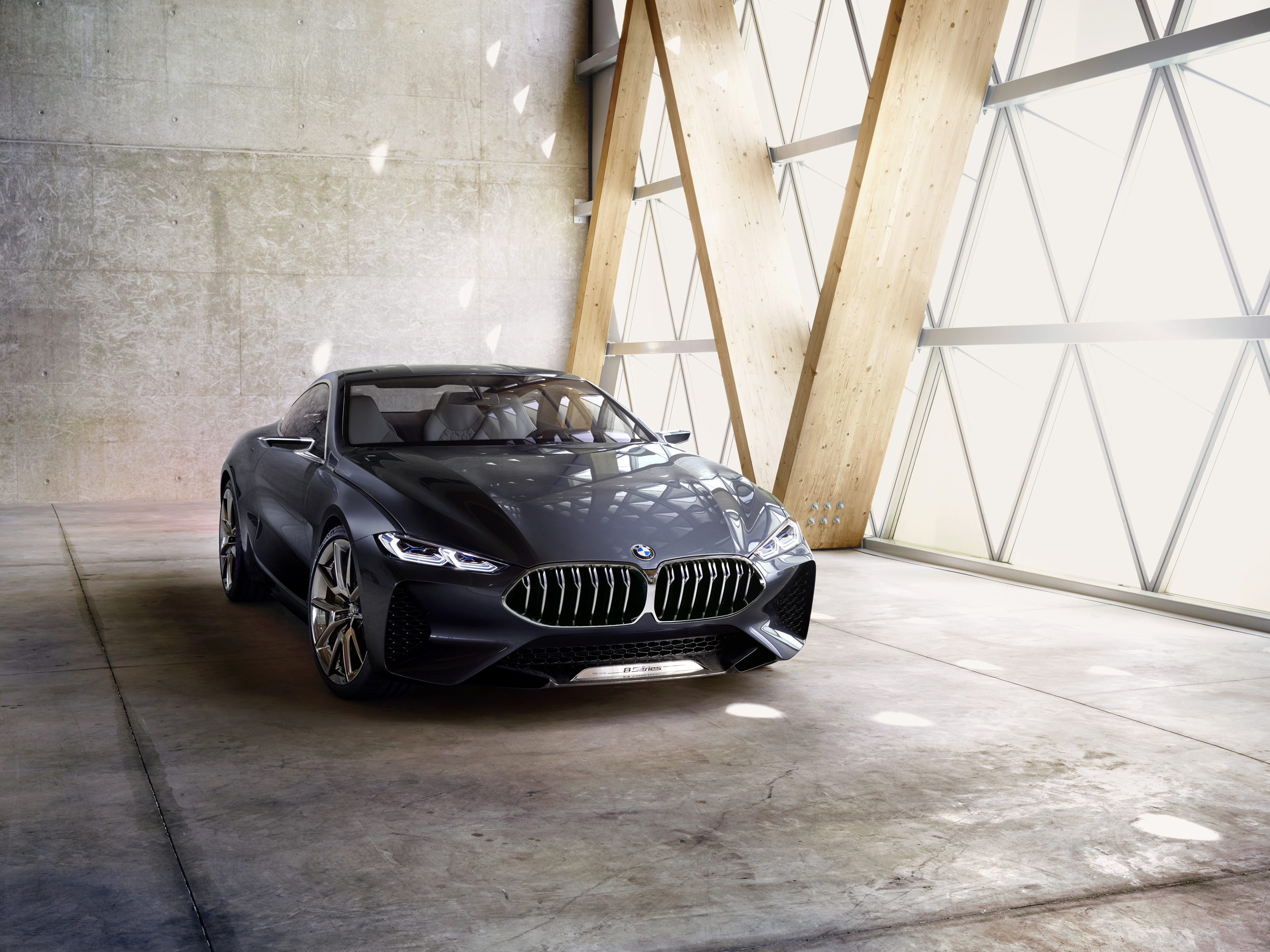 BMW Concept 8 Series front angle